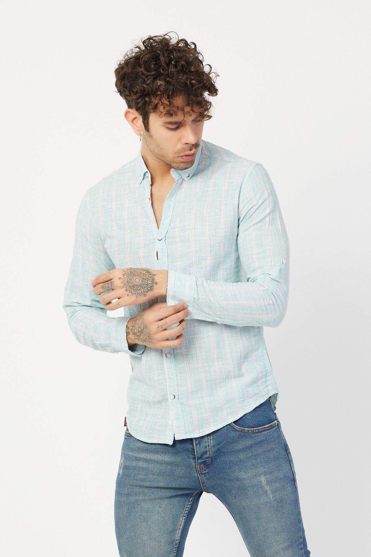 Cepsiz Uzun Kol Gömlek