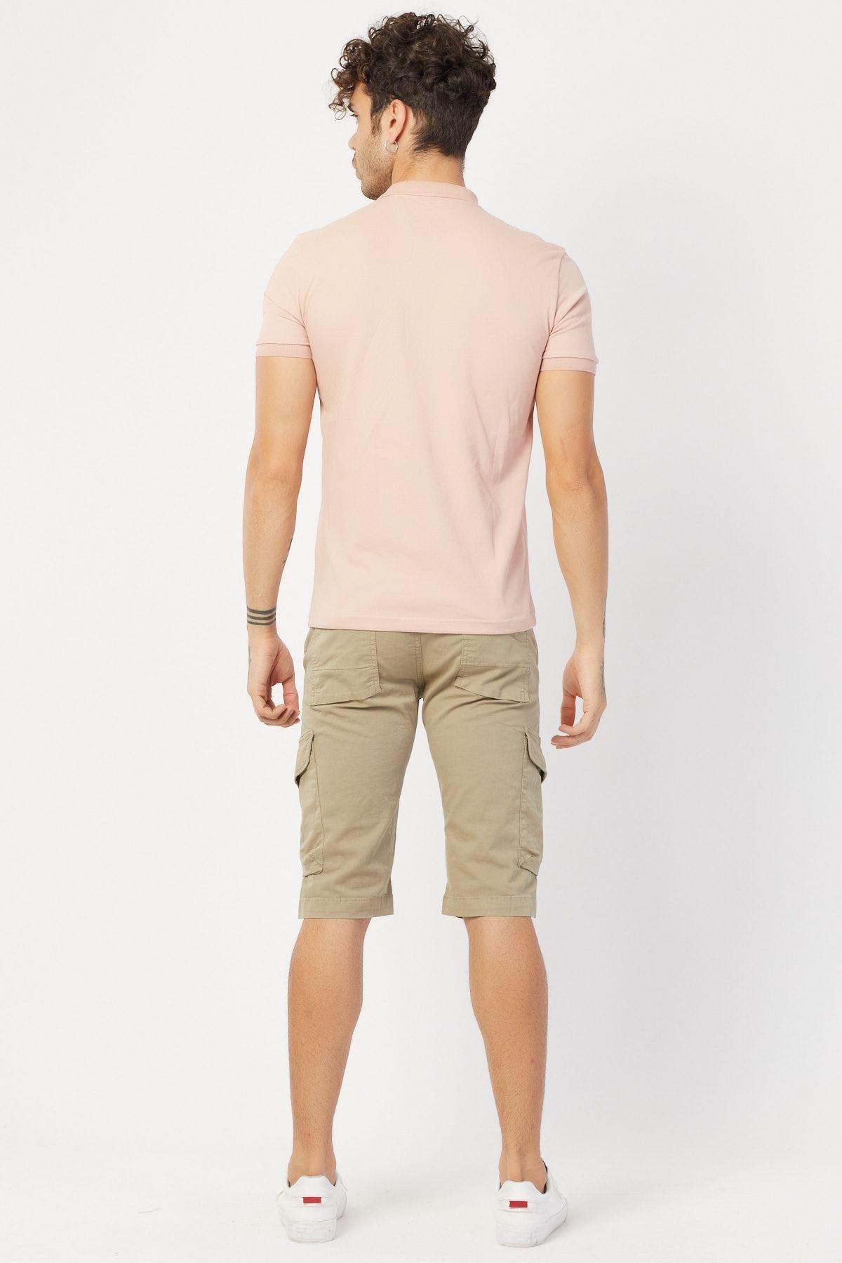 Baskılı Polo Yaka T-shirt