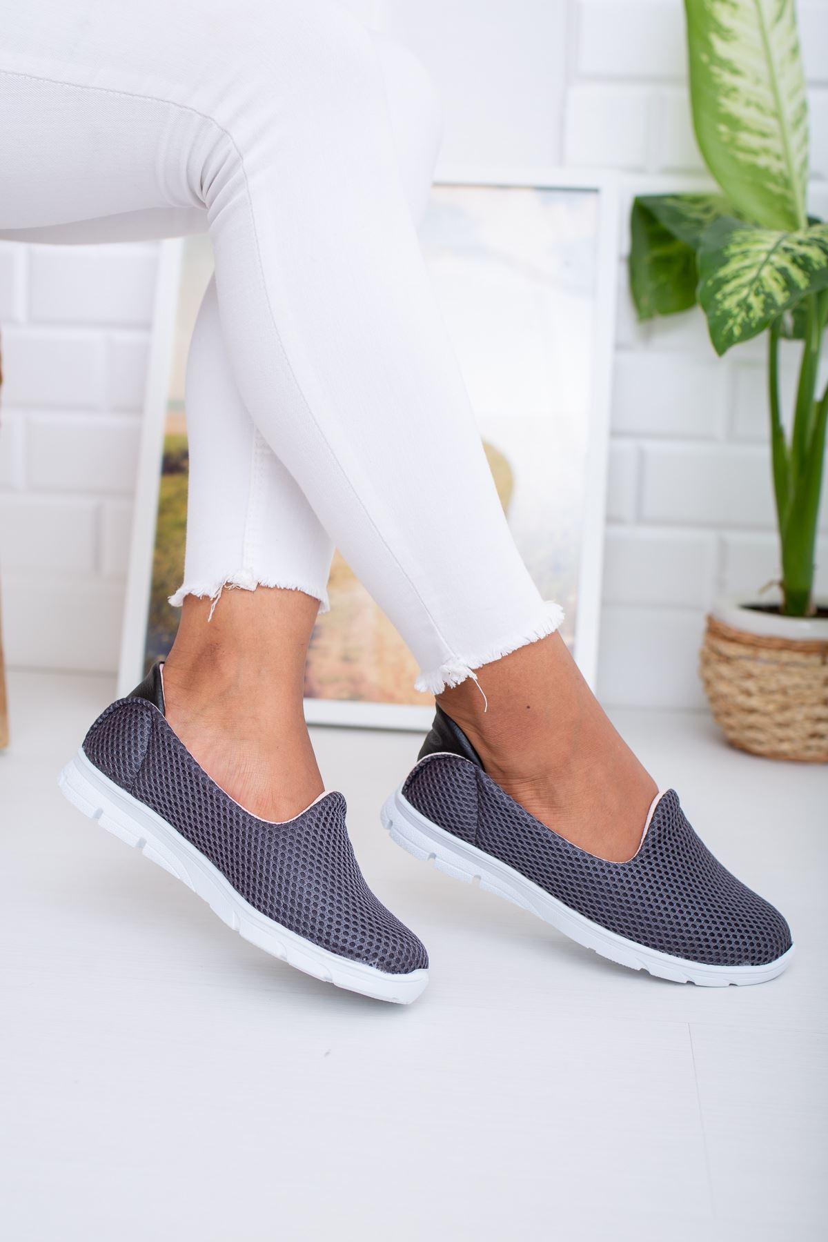 Fileli Füme Yürüyüş Ayakkabısı