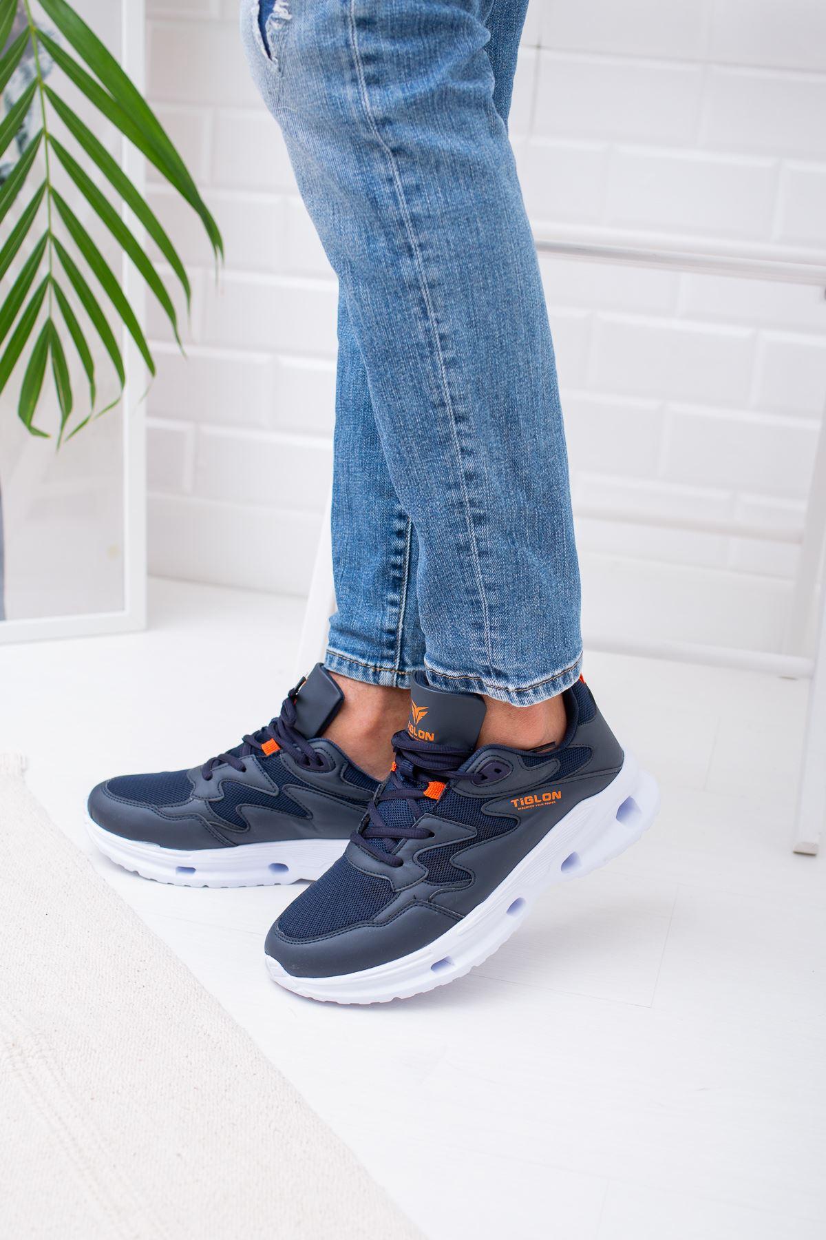 Air Taban Lacivert Erkek Spor Ayakkabı