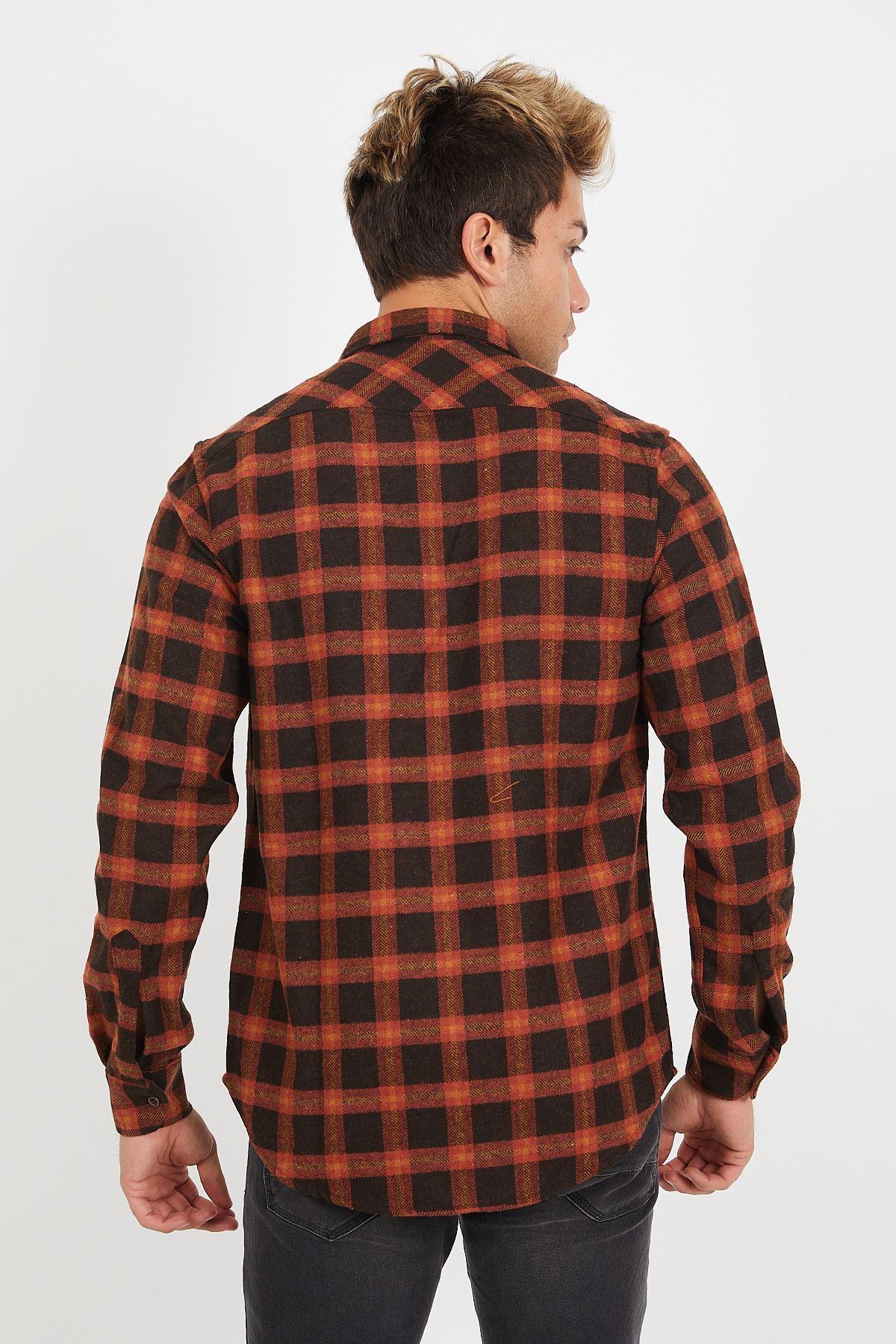 Fermuarlı Oduncu Gömlek