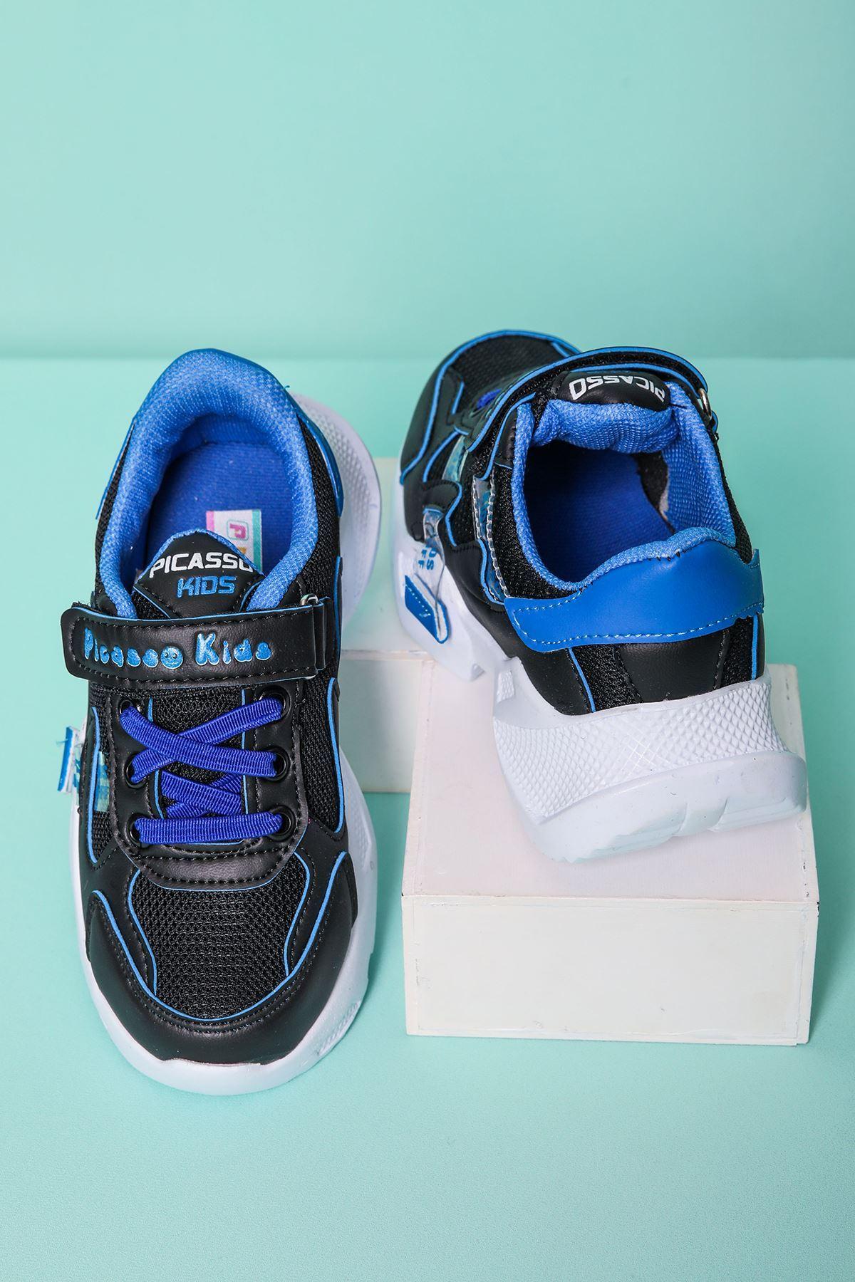 Mavi Garnili Çocuk Spor Ayakkabı