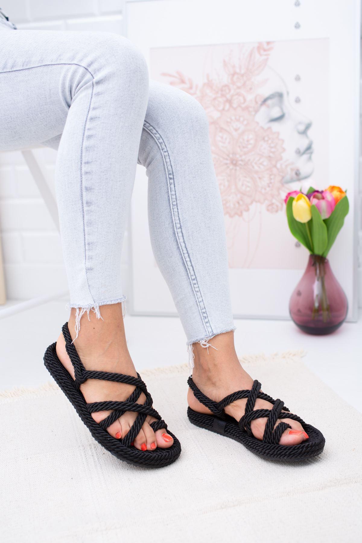 Halatlı Sandalet