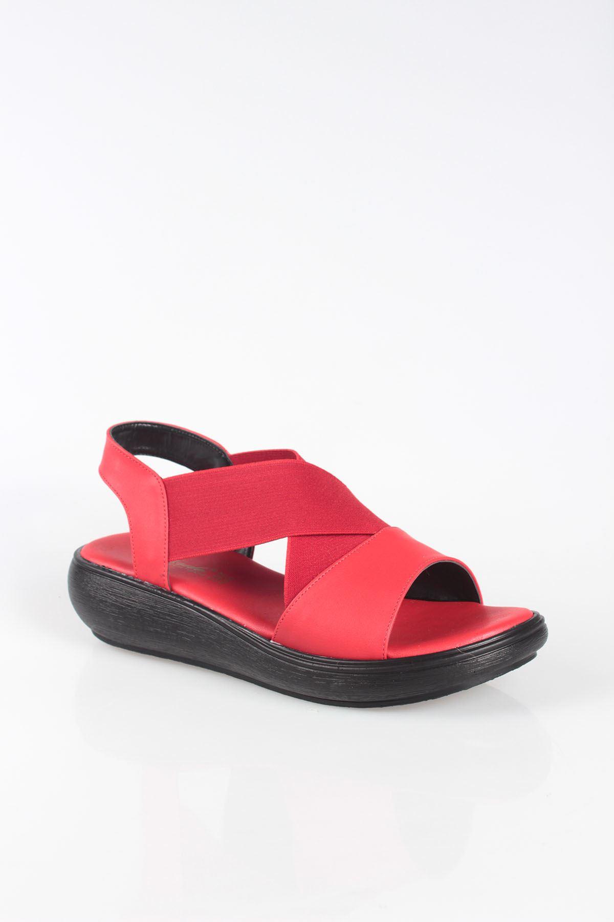 Balon Taban Lastikli Sandalet