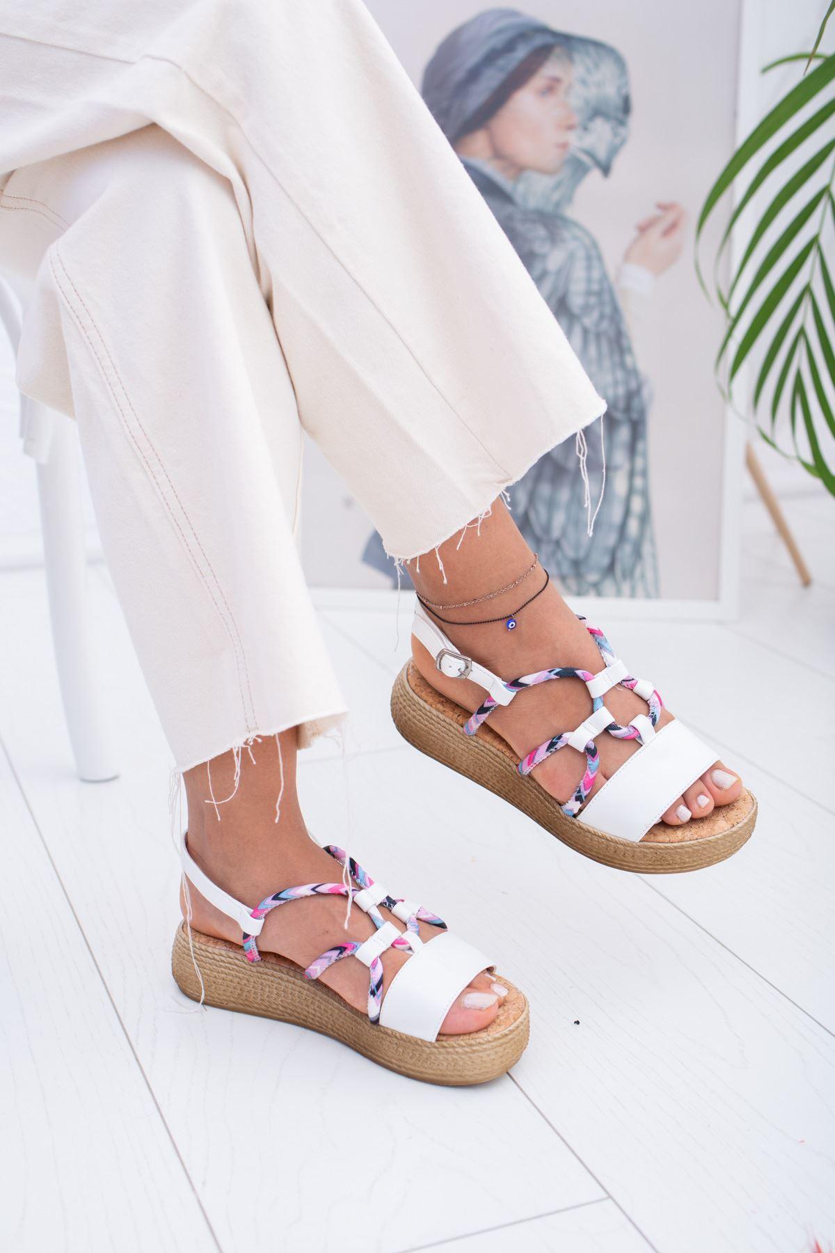 İpli Kadın Sandalet