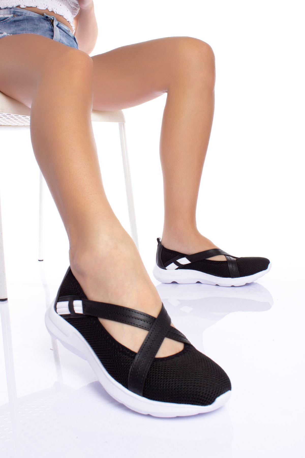 Çapraz Bantlı Günlük Ayakkabı