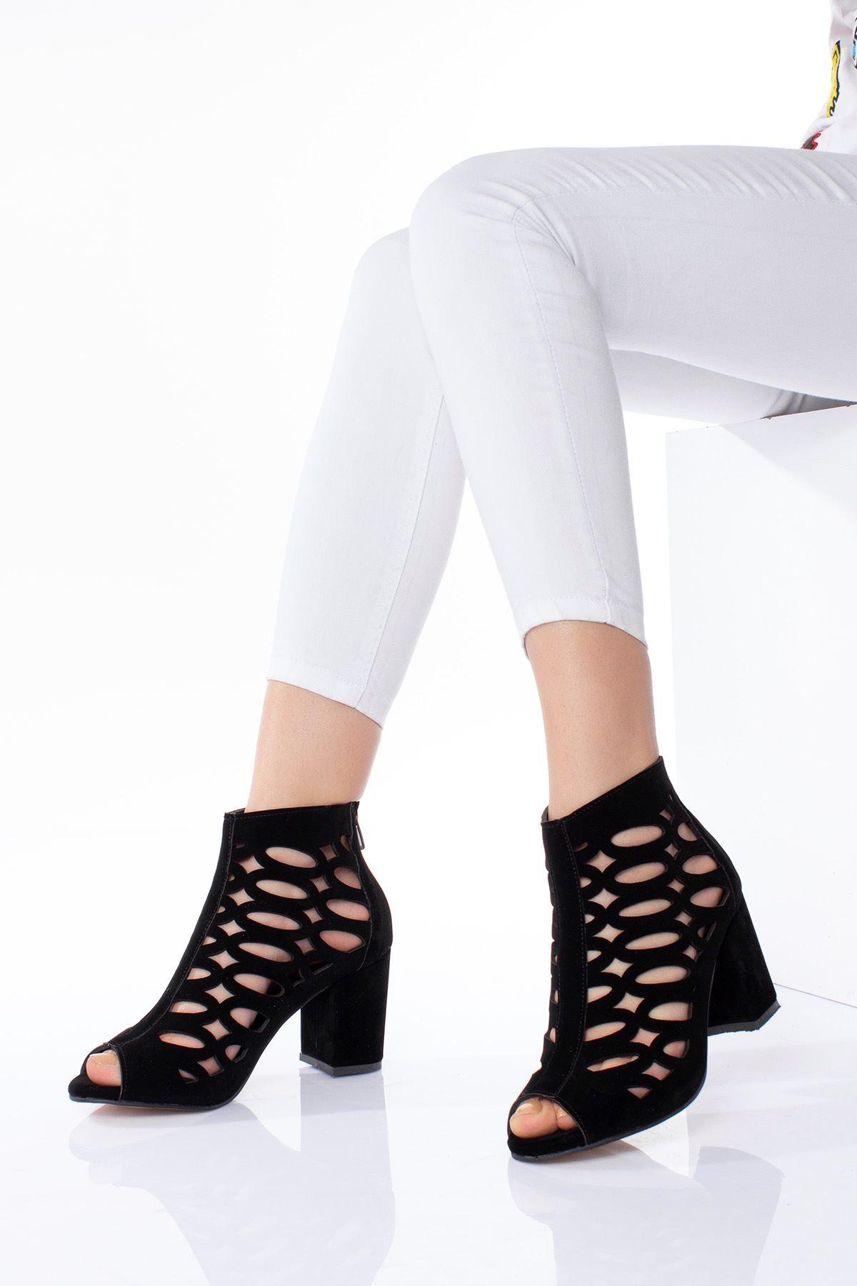 Kafes Model Kadın Ayakkabı