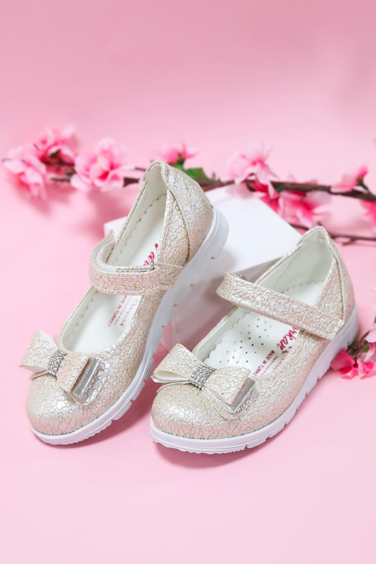 Altın Çatlak Kız Çocuk Ayakkabı