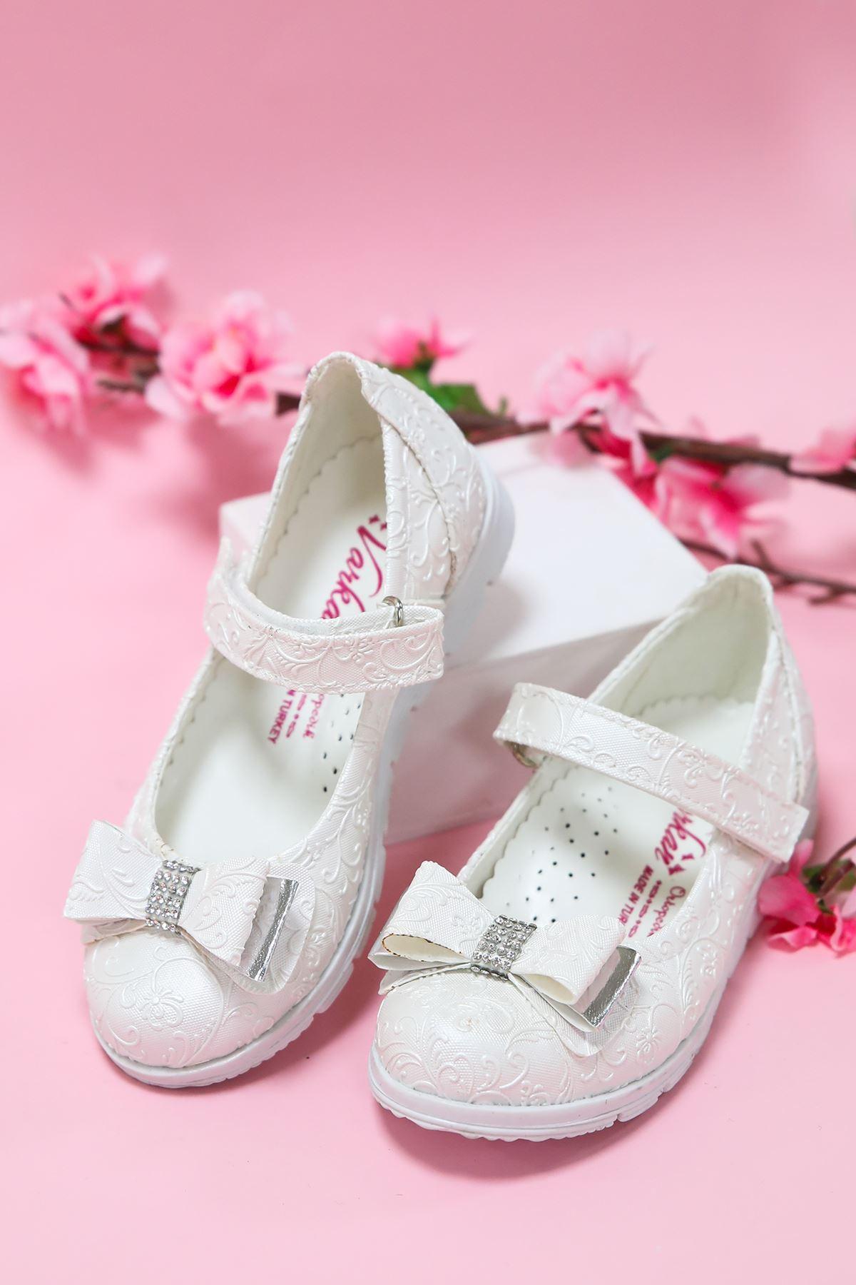 Sedef Sarmaşık Kız Çocuk Ayakkabı