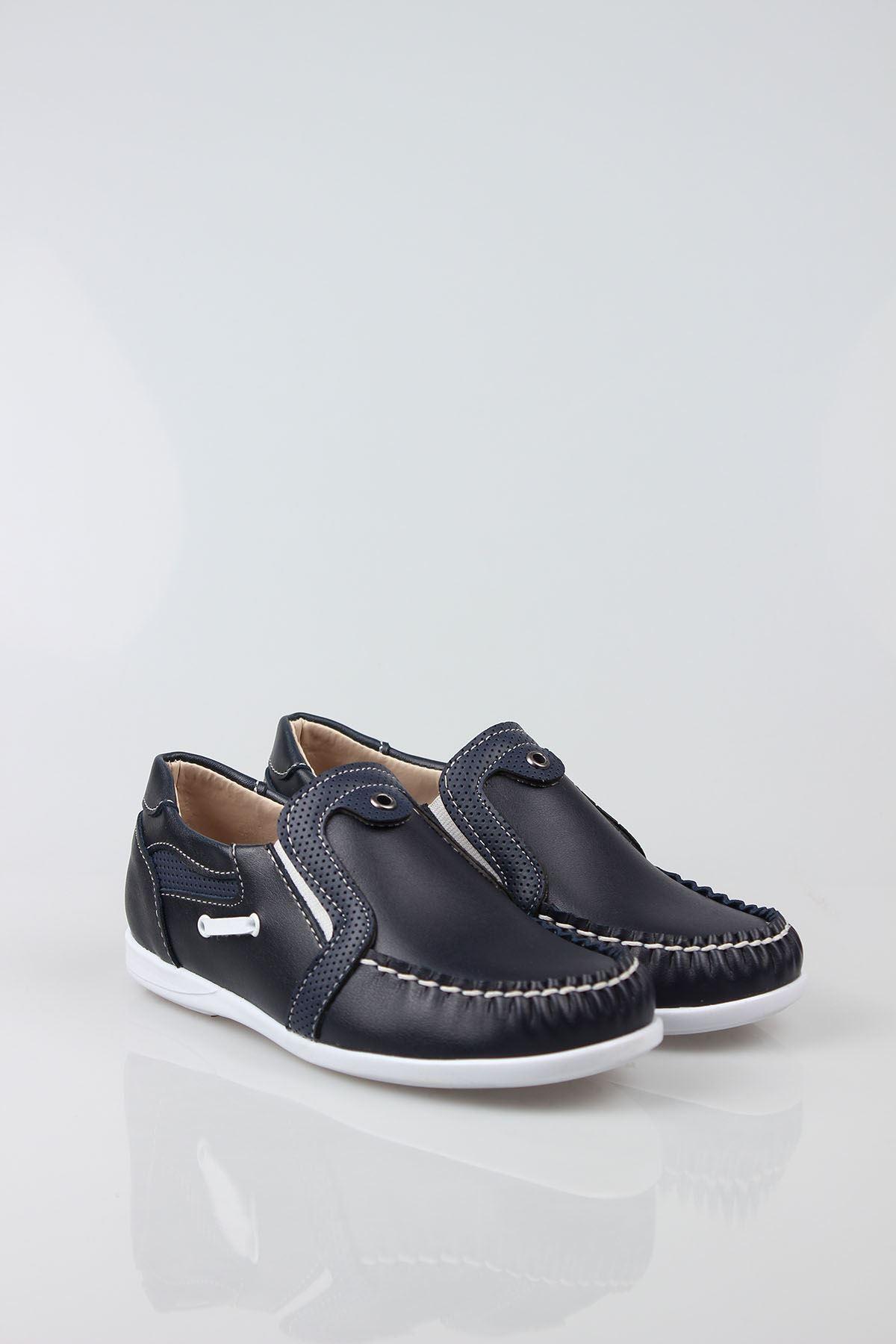 Lacivert  Erkek Çocuk Ayakkabı