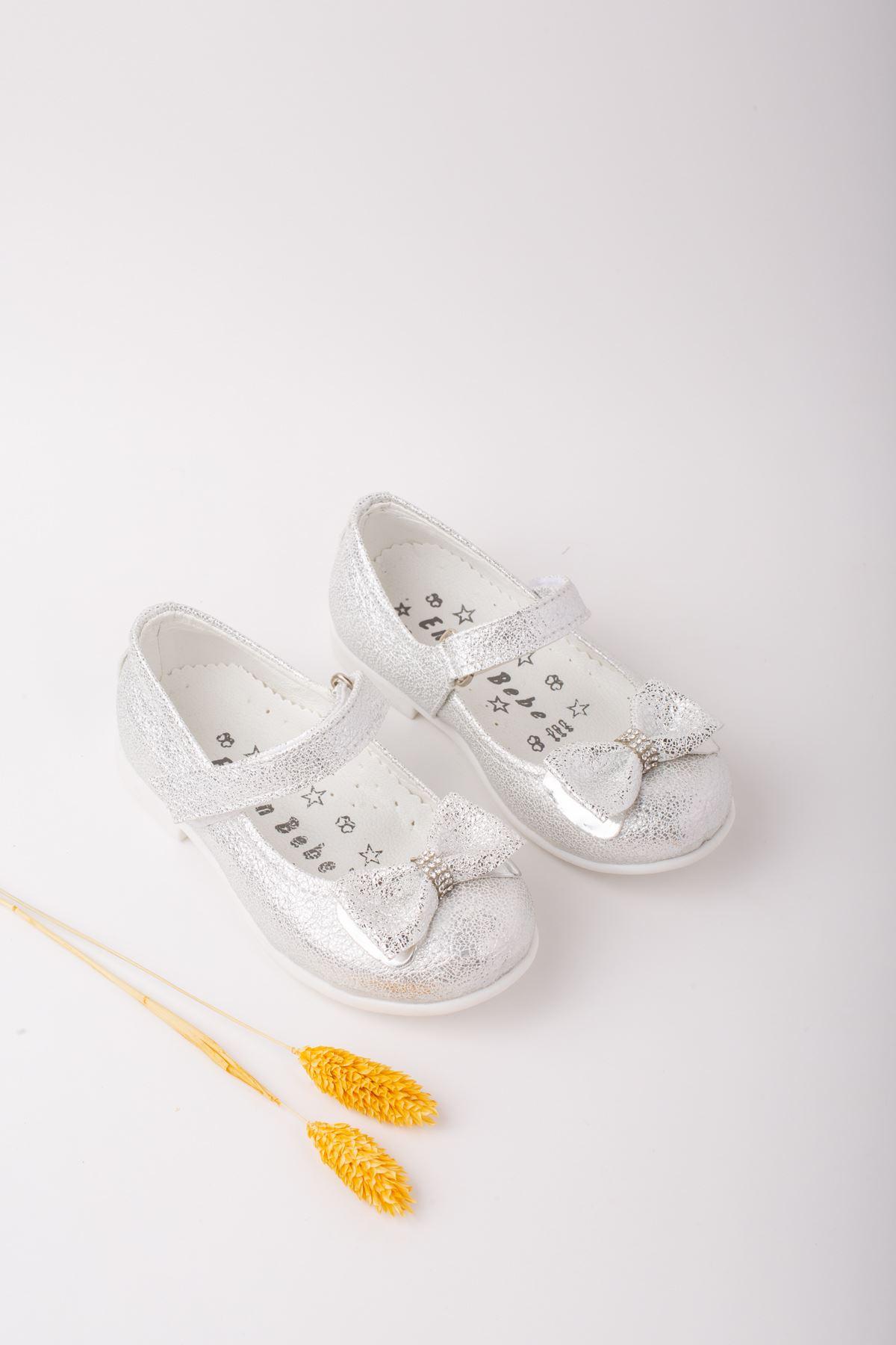 Fiyonklu Kız Bebe Ayakkabı
