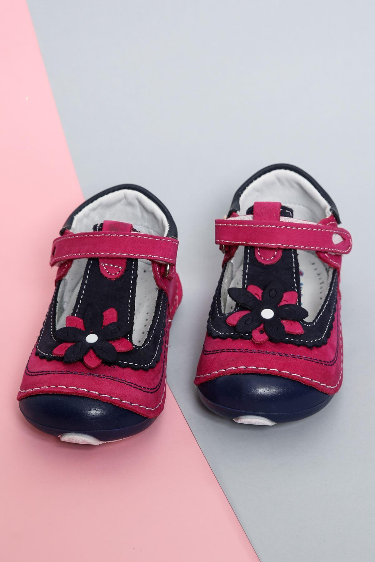 Kız Bebe Deri Ayakkabı