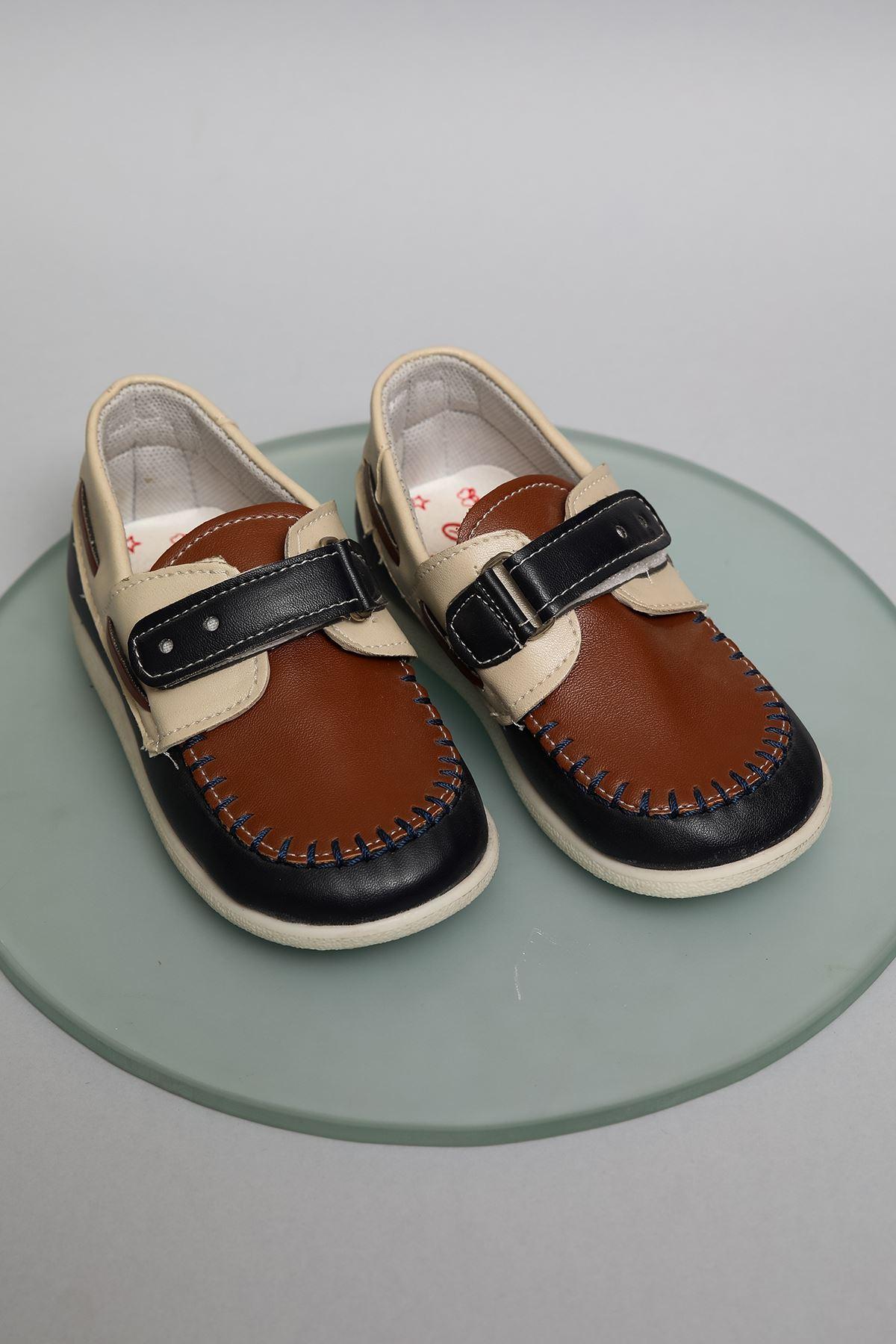 Cırtlı Erkek Bebe Ayakkabı