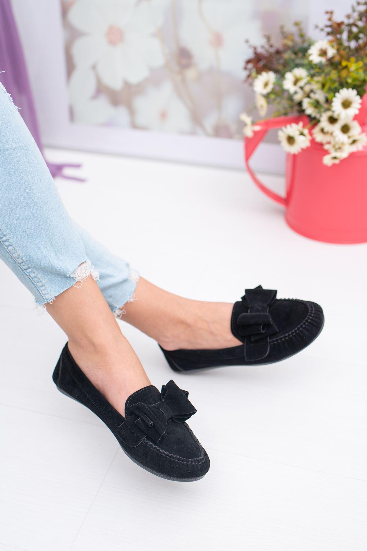 Papyon Fiyonklu Babet Ayakkabı