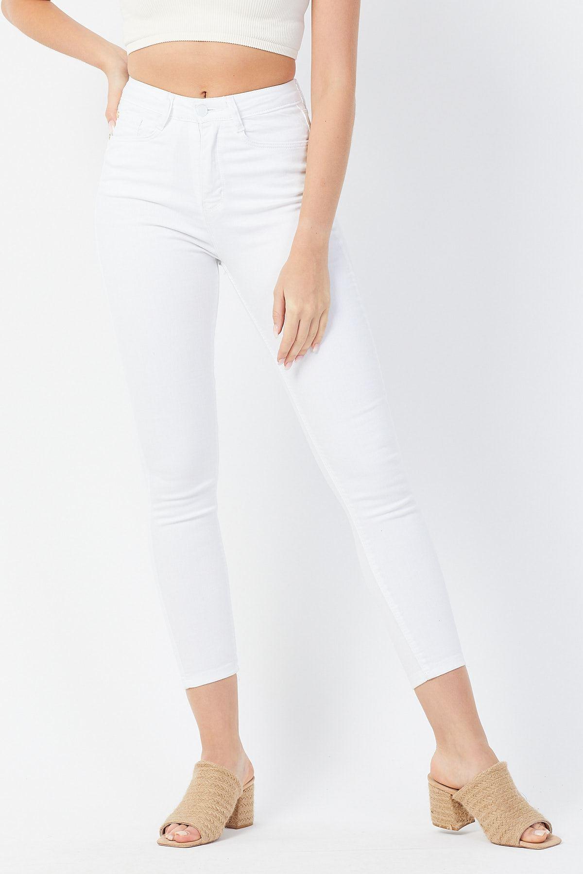 Beyaz Kot Pantolon
