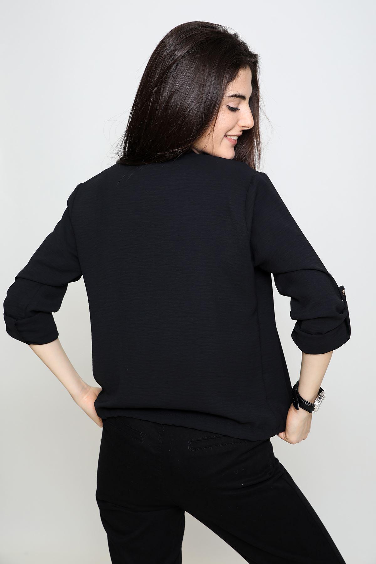 Fermuarlı Gömlek