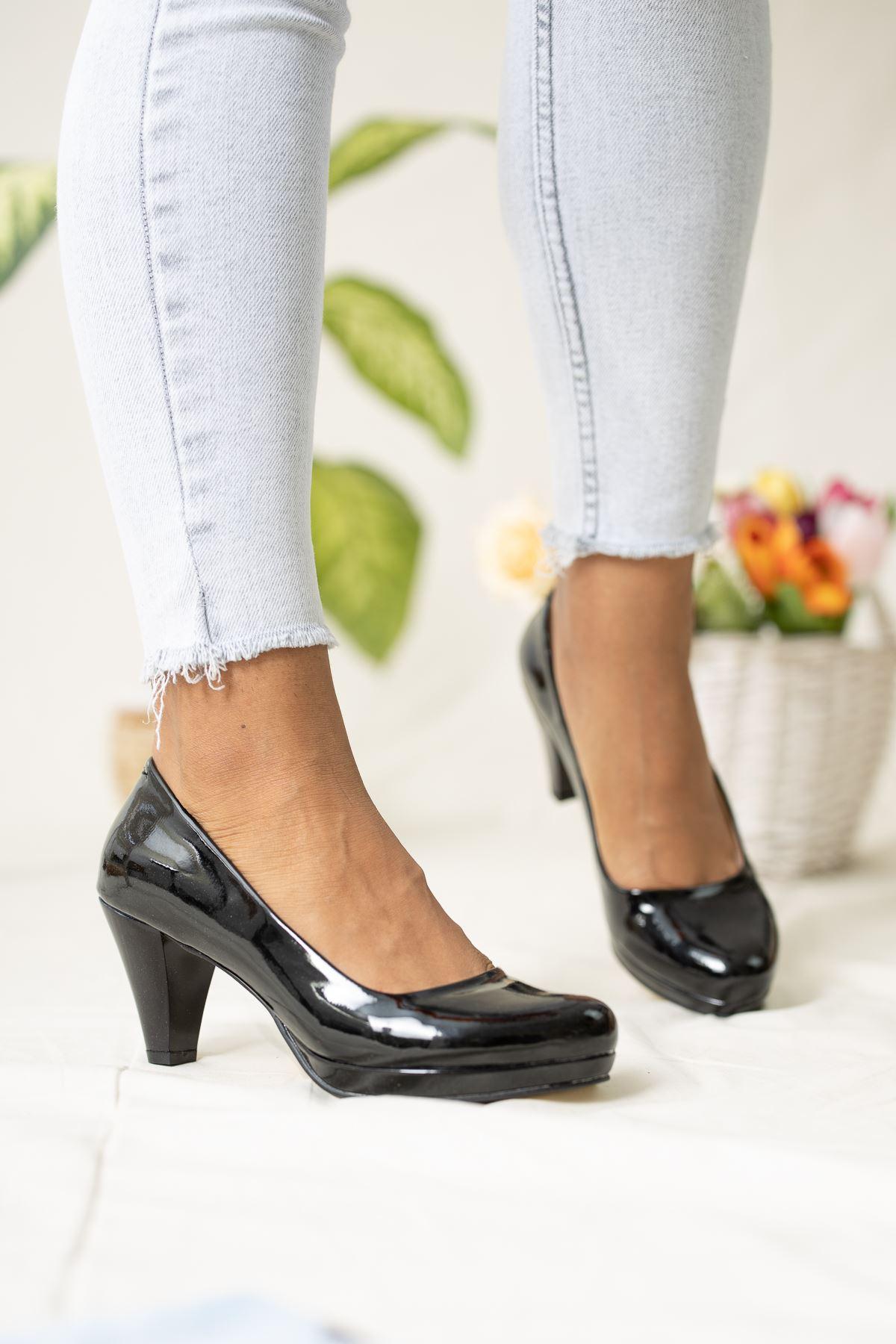 Tek Platform Topuklu Ayakkabı