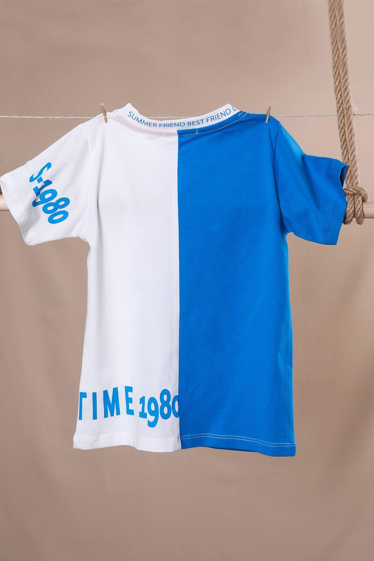 Yazı Baskılı T-shirt