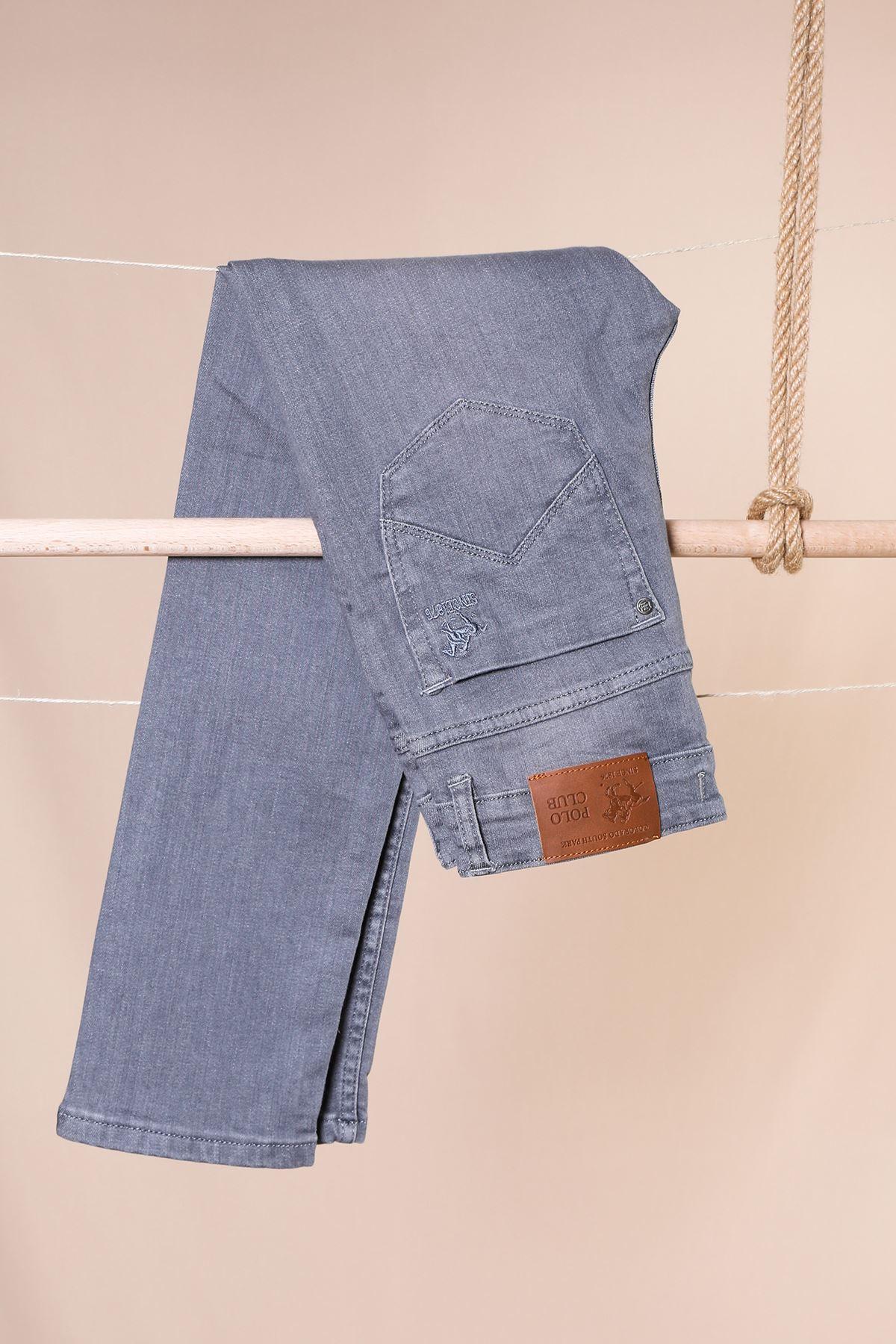 Likralı Boru Paça Garson Boy Pantolon
