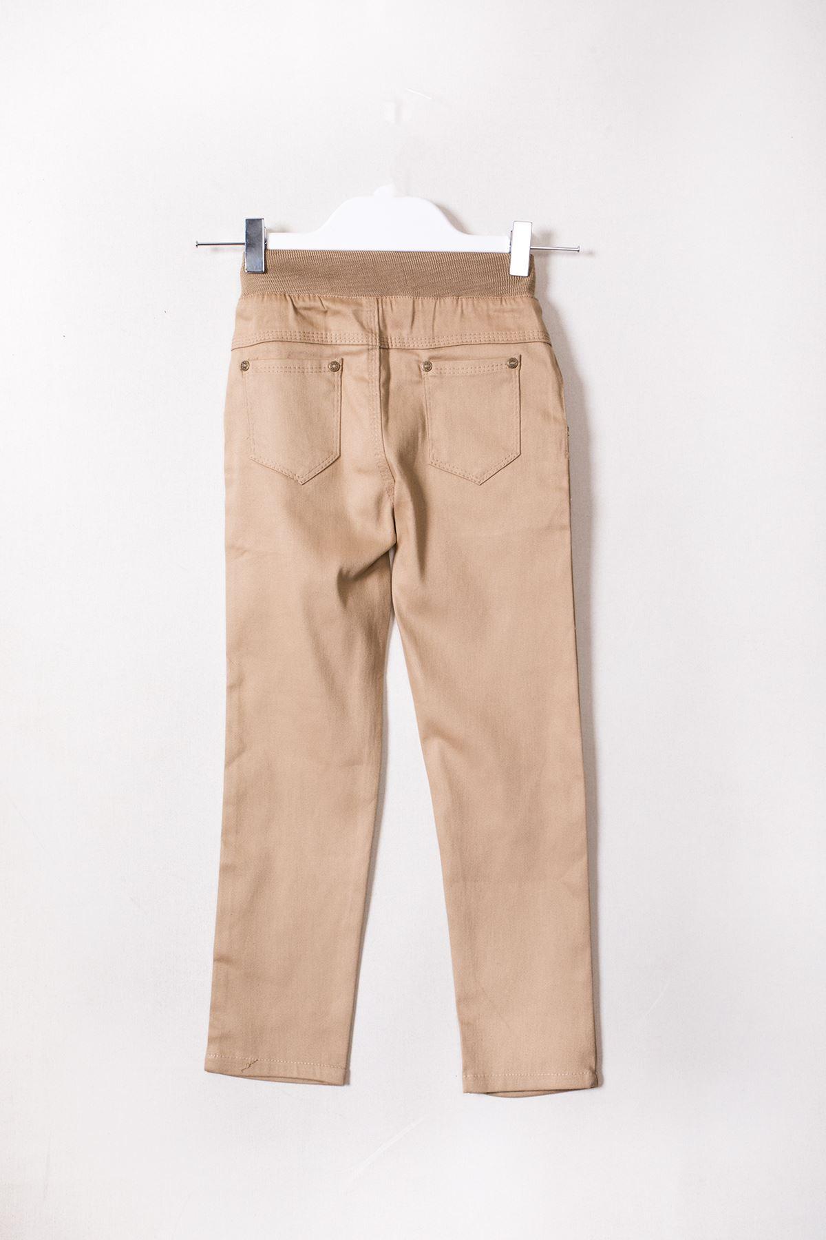 Beli Lastikli Erkek Çocuk Pantolon