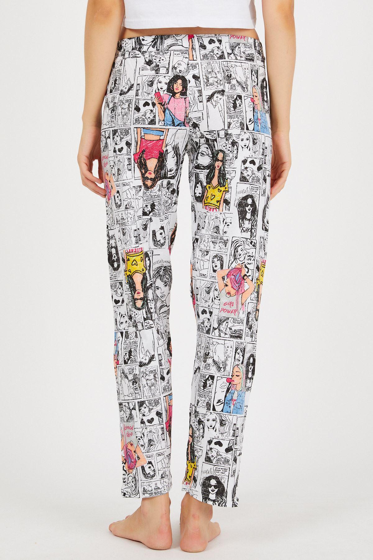 Baskılı Pijama