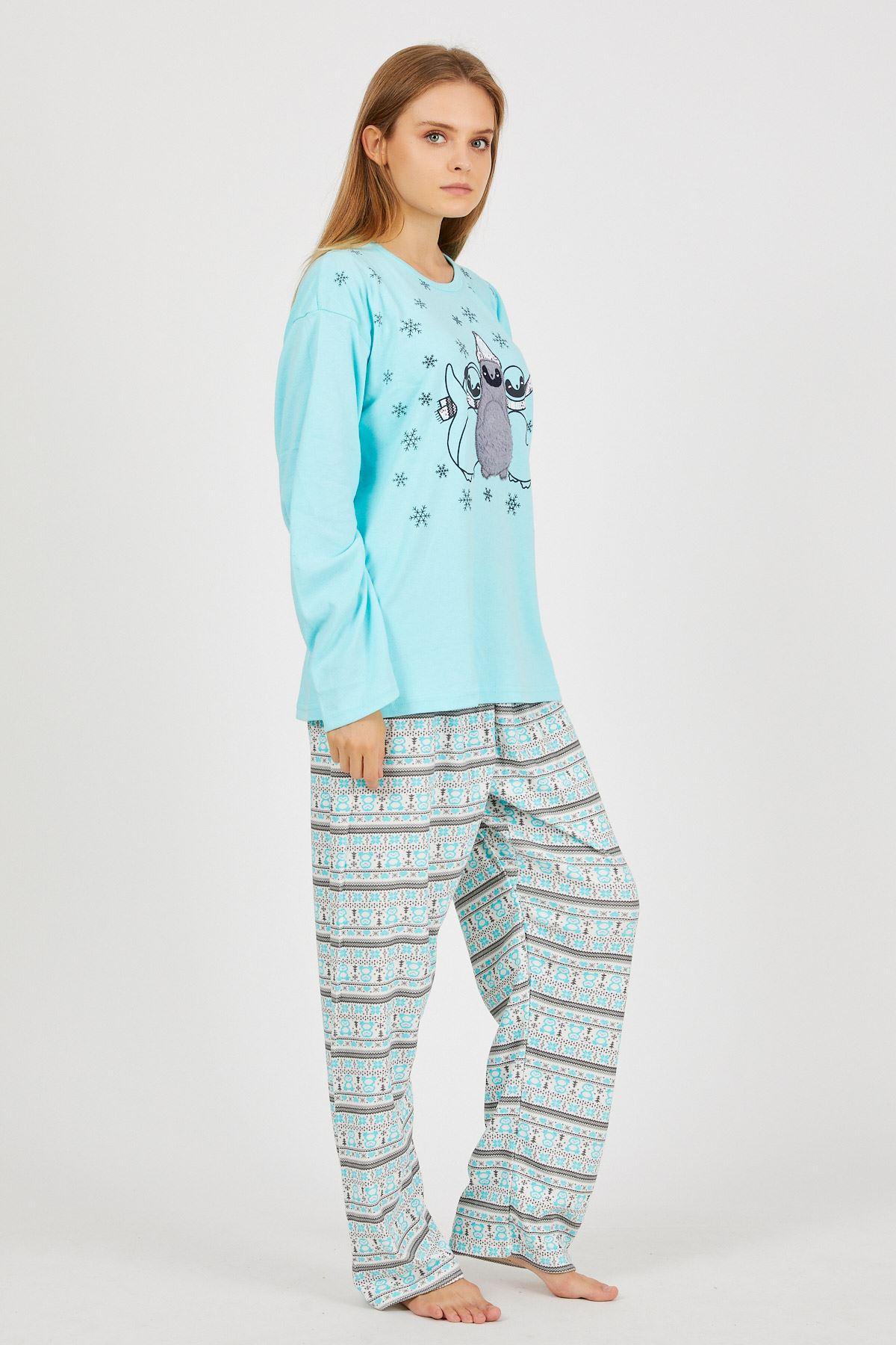 Baskılı Pijama Takım