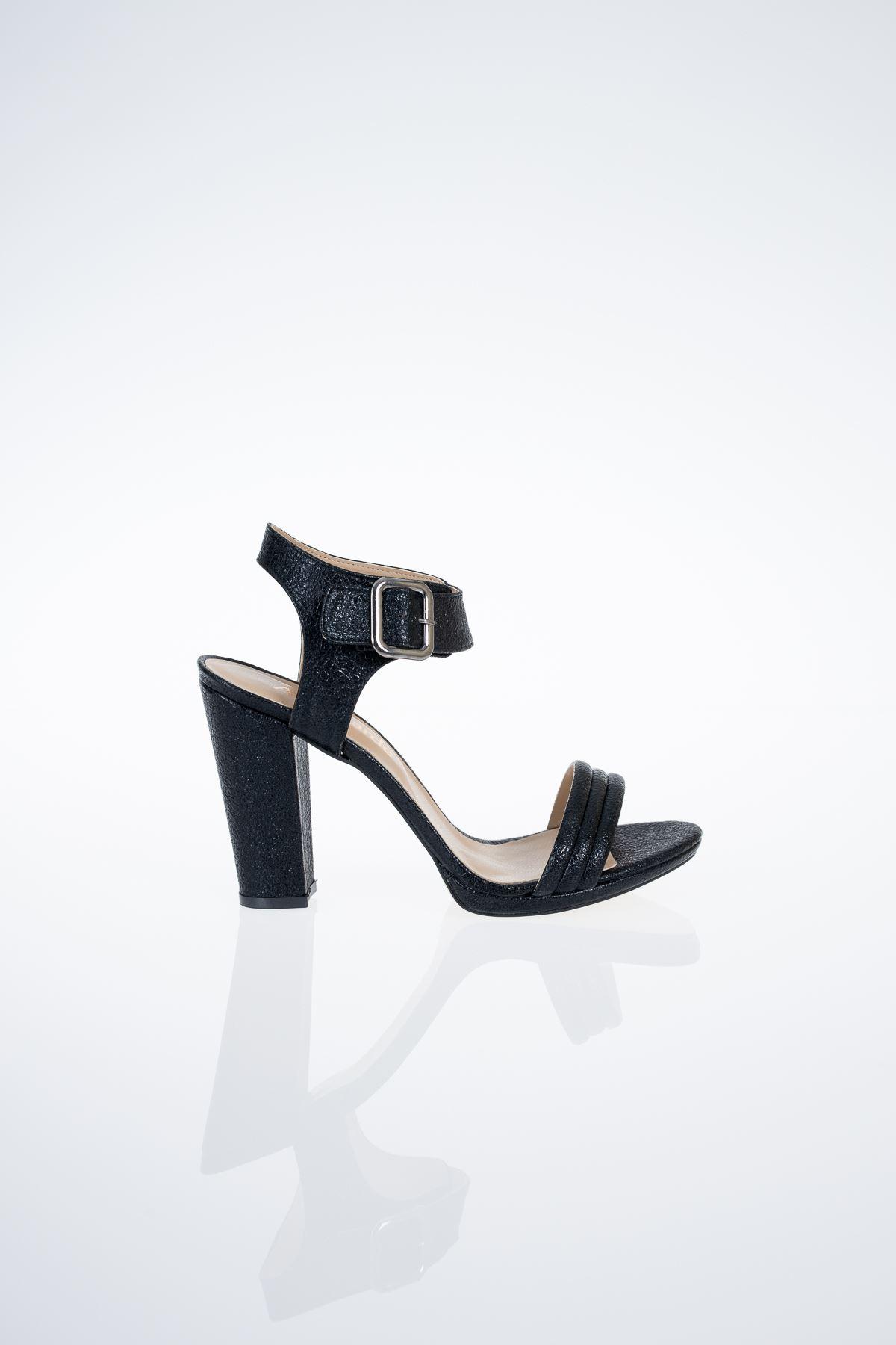 5 Lik Platform  Topuklu Sandalet