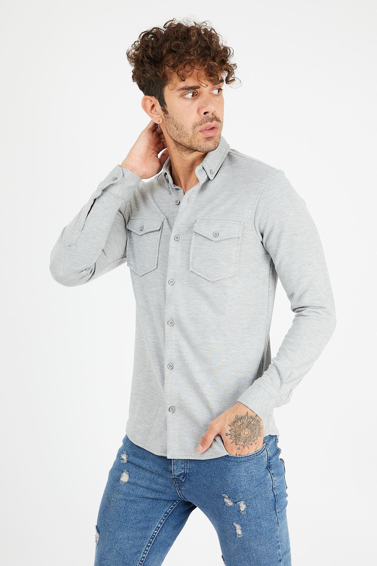 Çift Cep Gömlek
