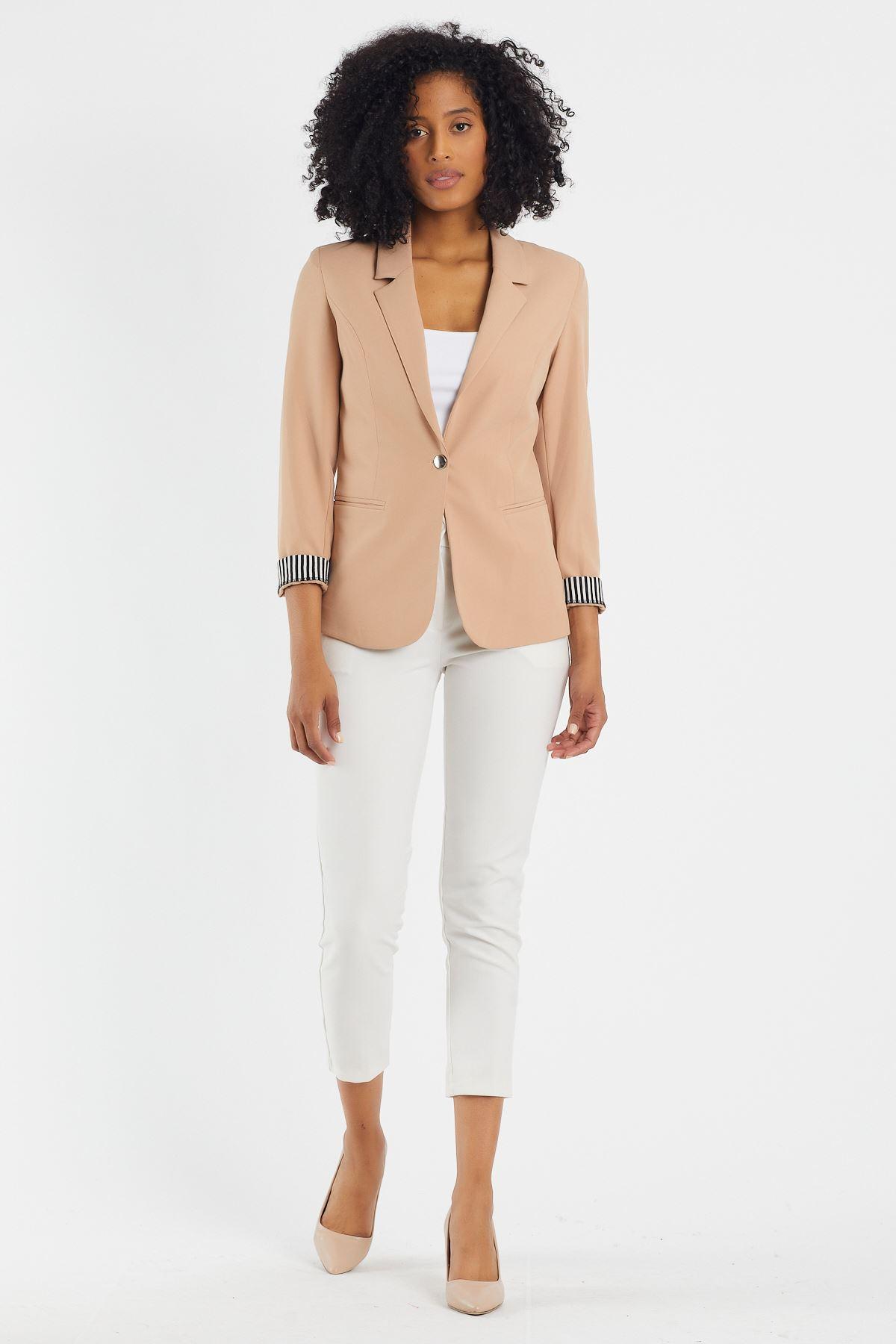 Astarlı Blazer Ceket