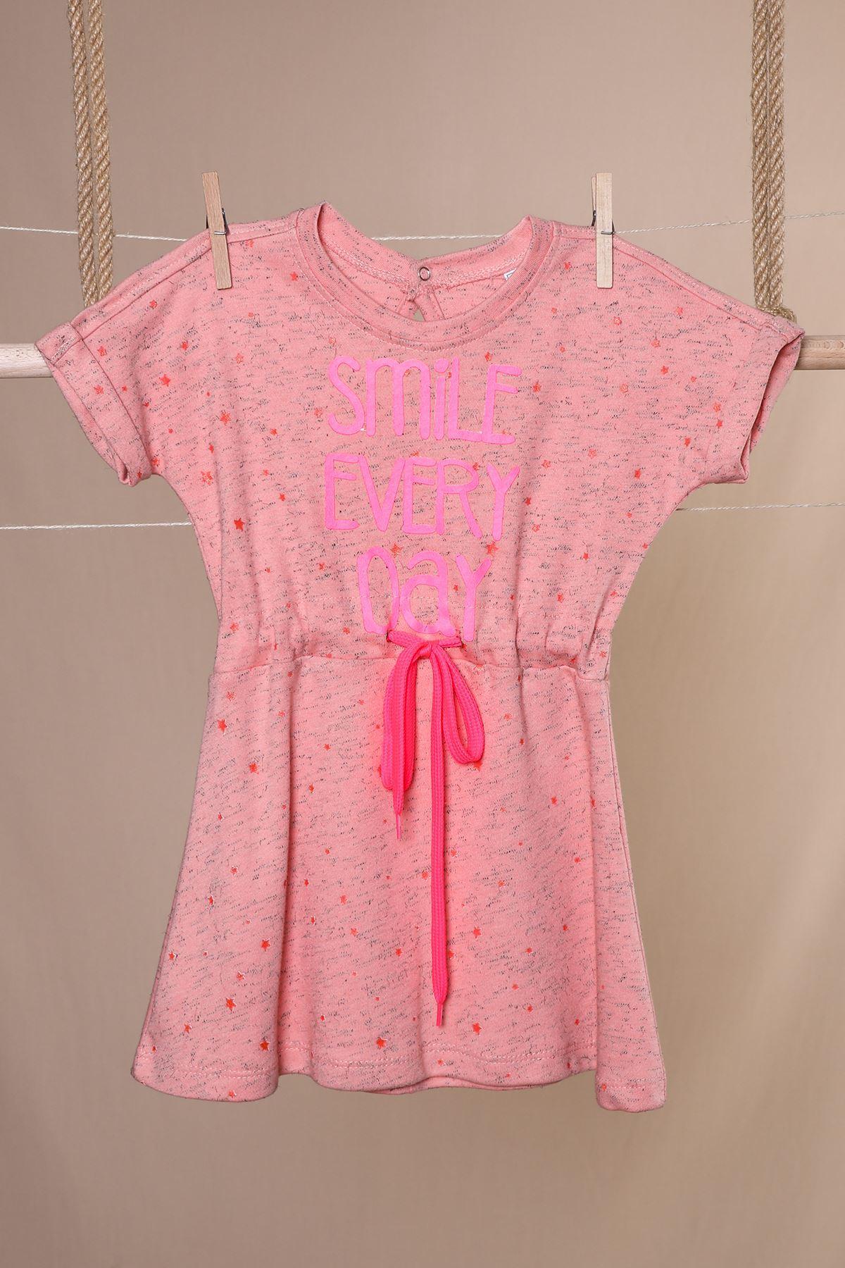 Baskılı Çocuk Elbise