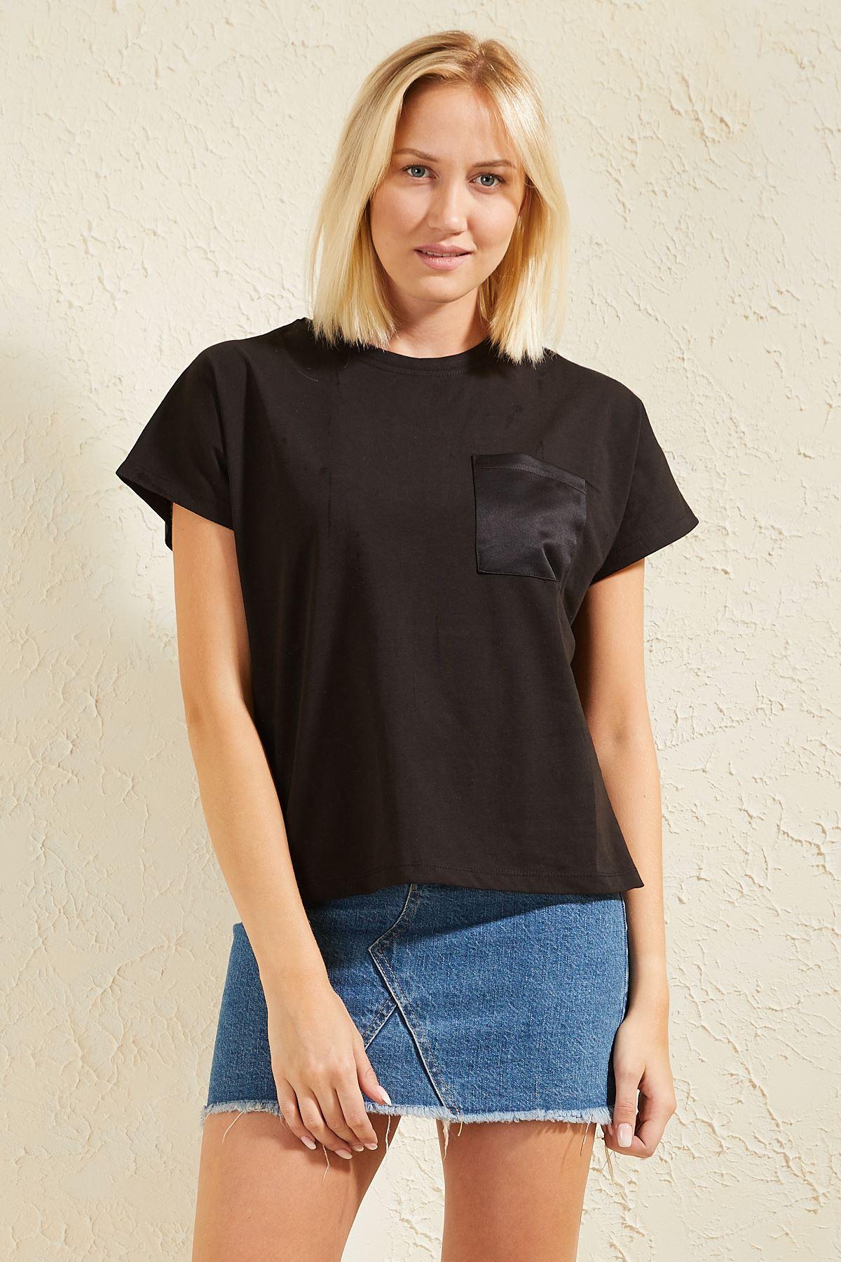 Cepli Basic Kadın T-shirt
