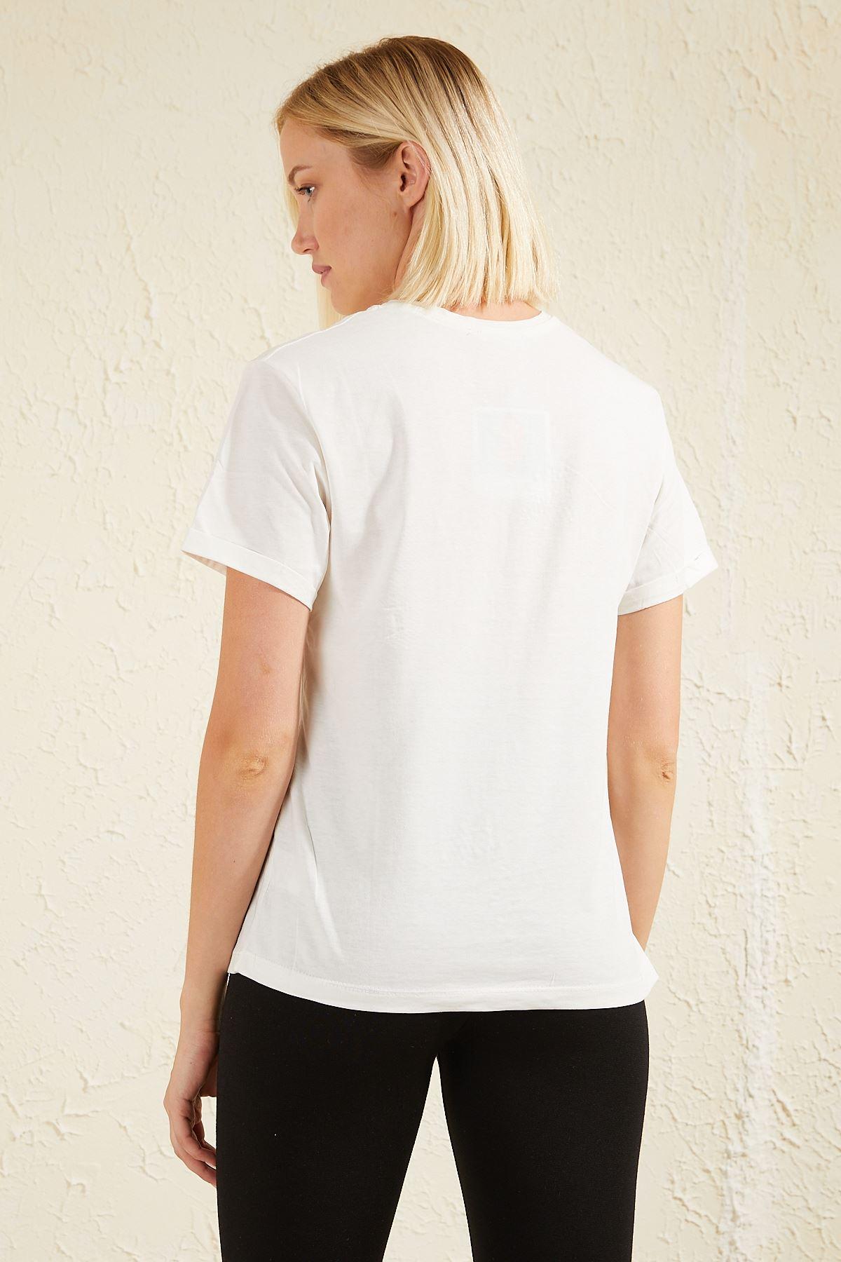 İncili Kadın T-shirt