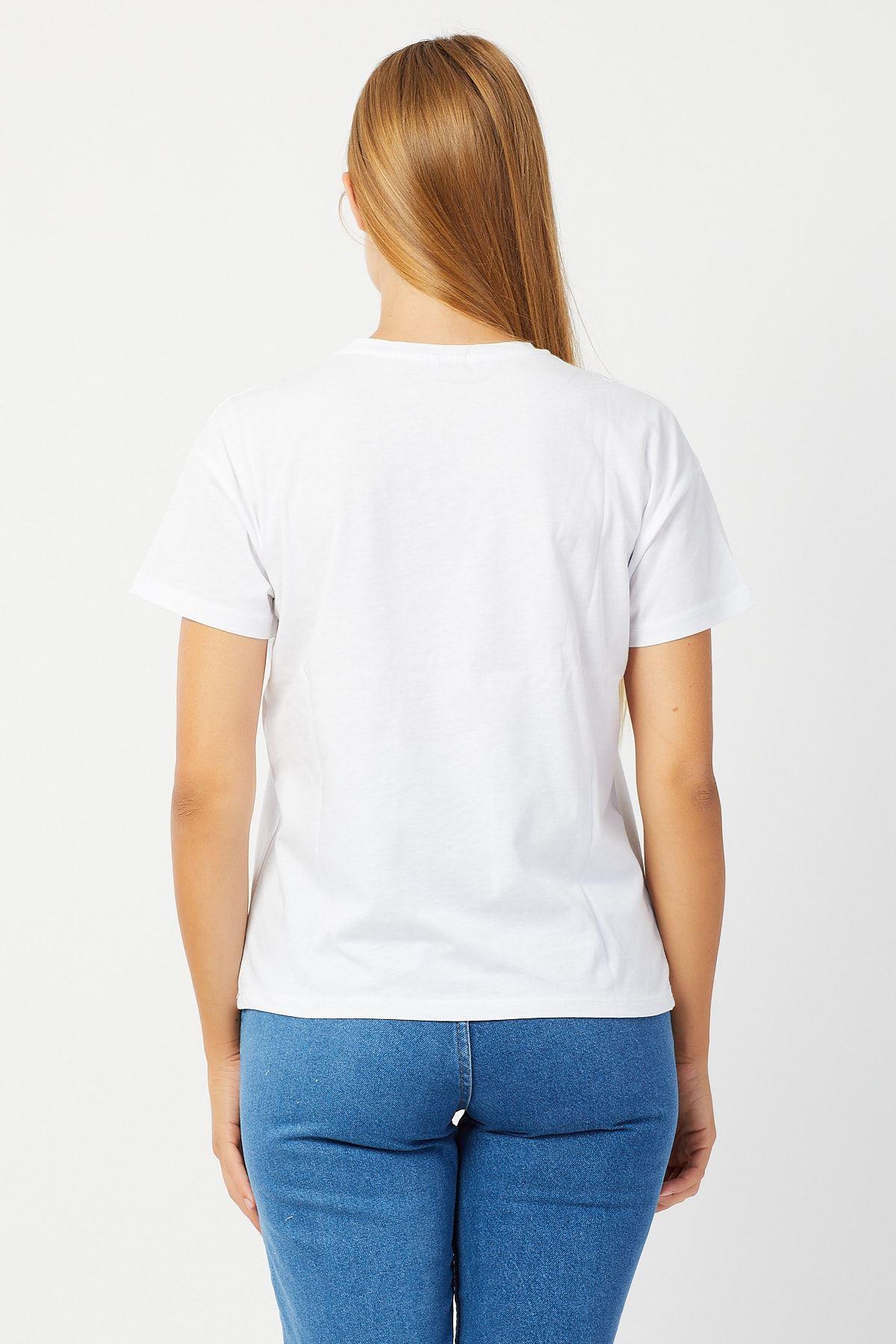 Minnie Baskılı T-shirt
