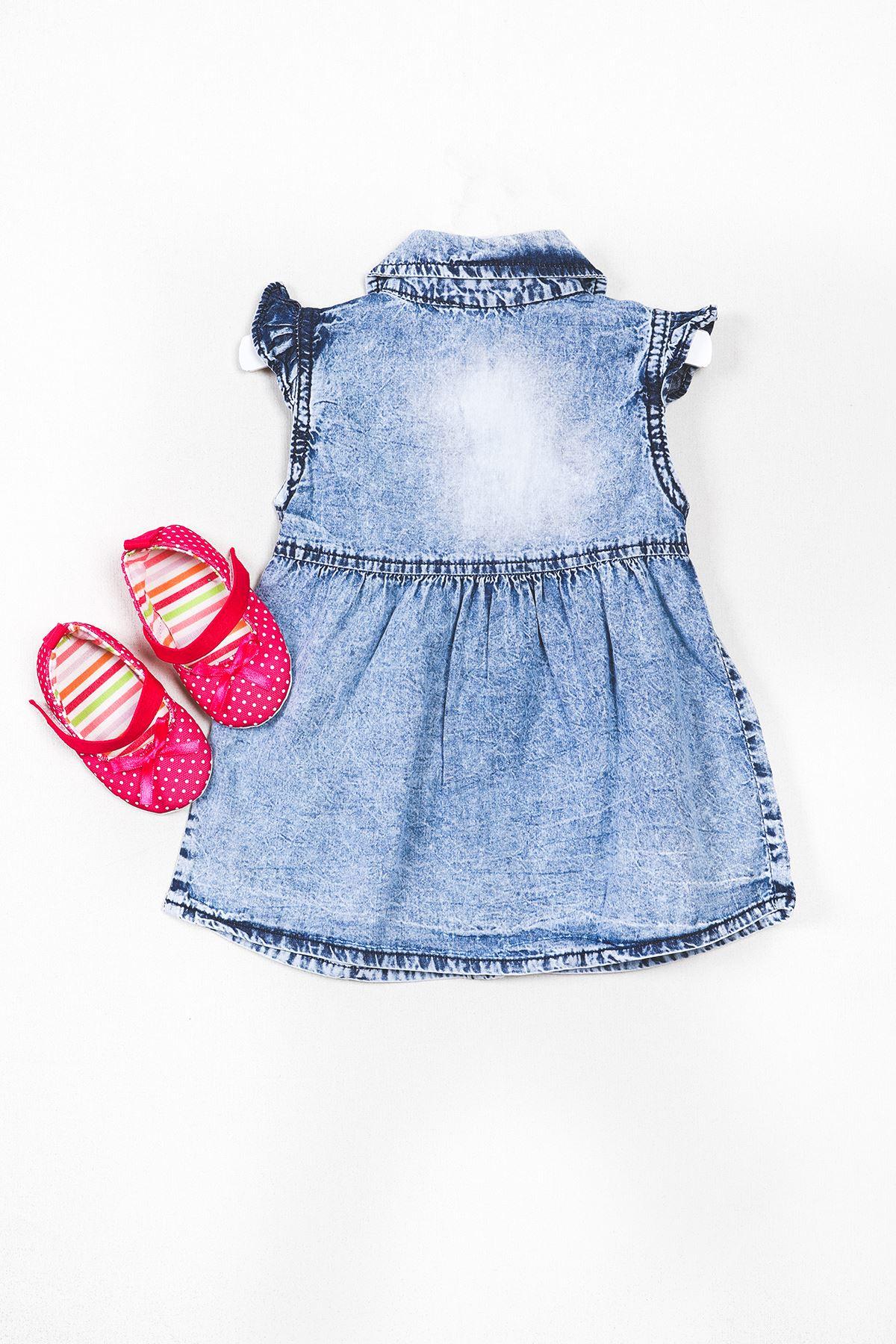 Ayakkabılı Kot Elbise