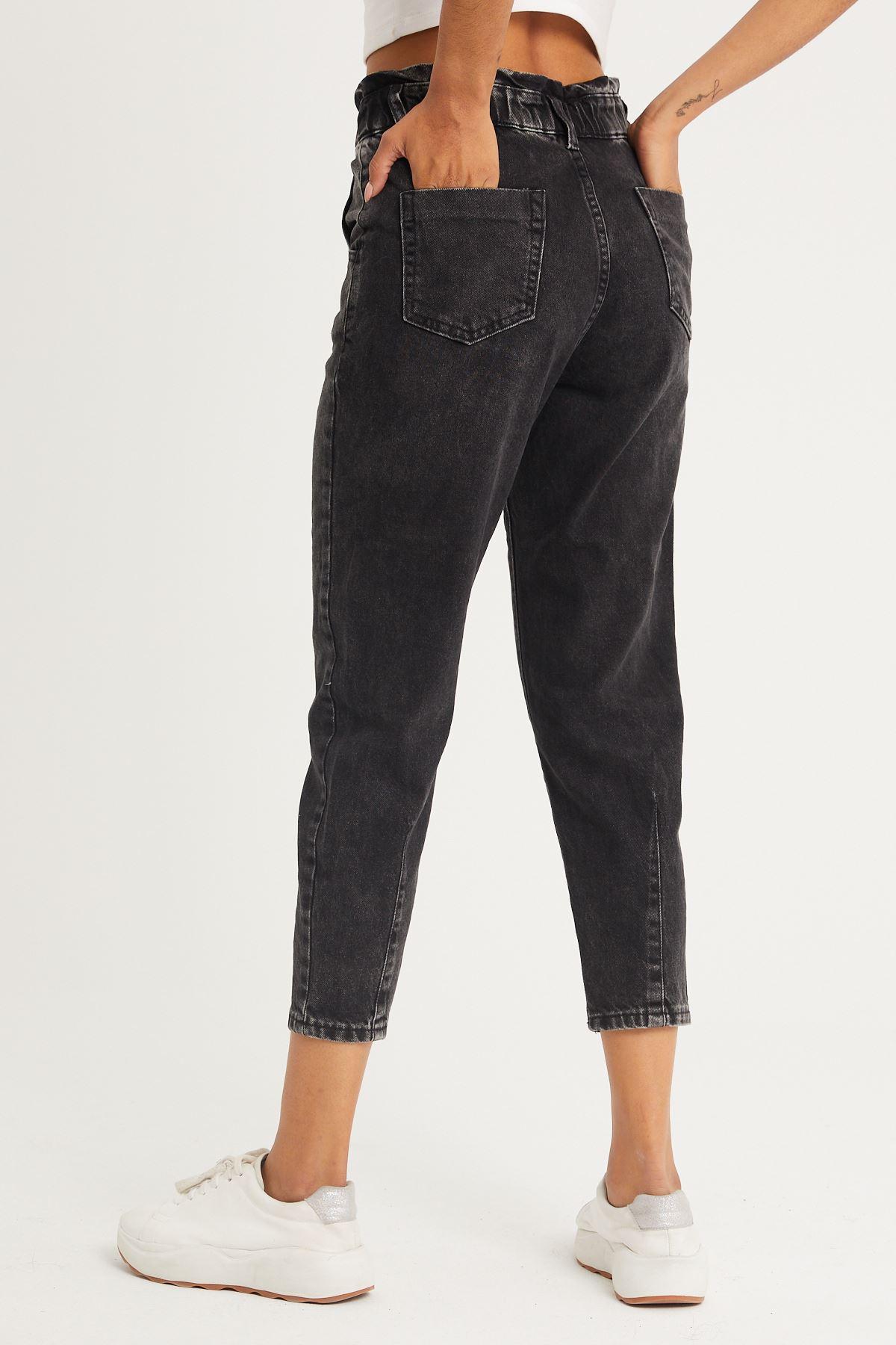 Yüksek Bel Mom Jeans