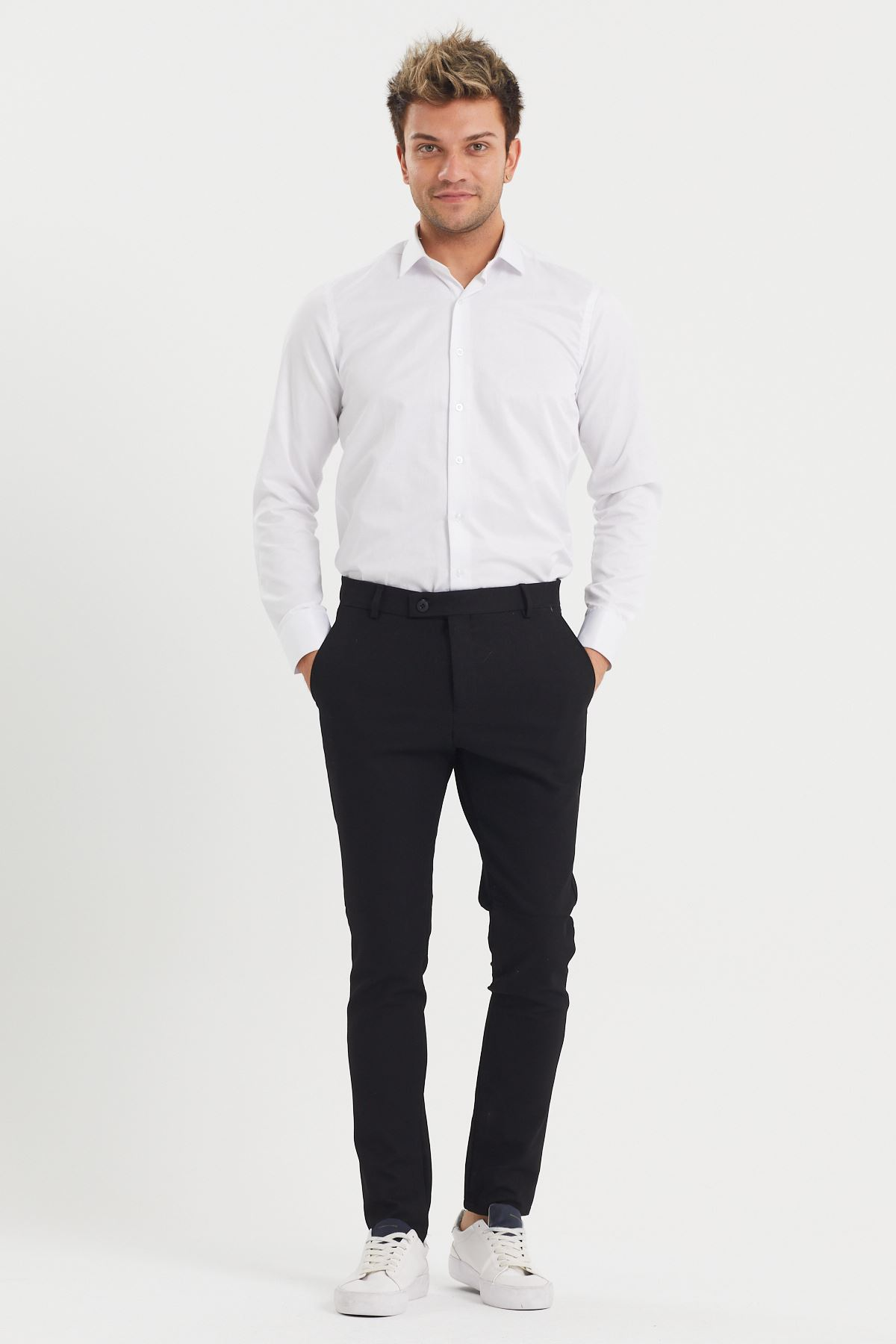 Slim Fit Kumaş Pantolon