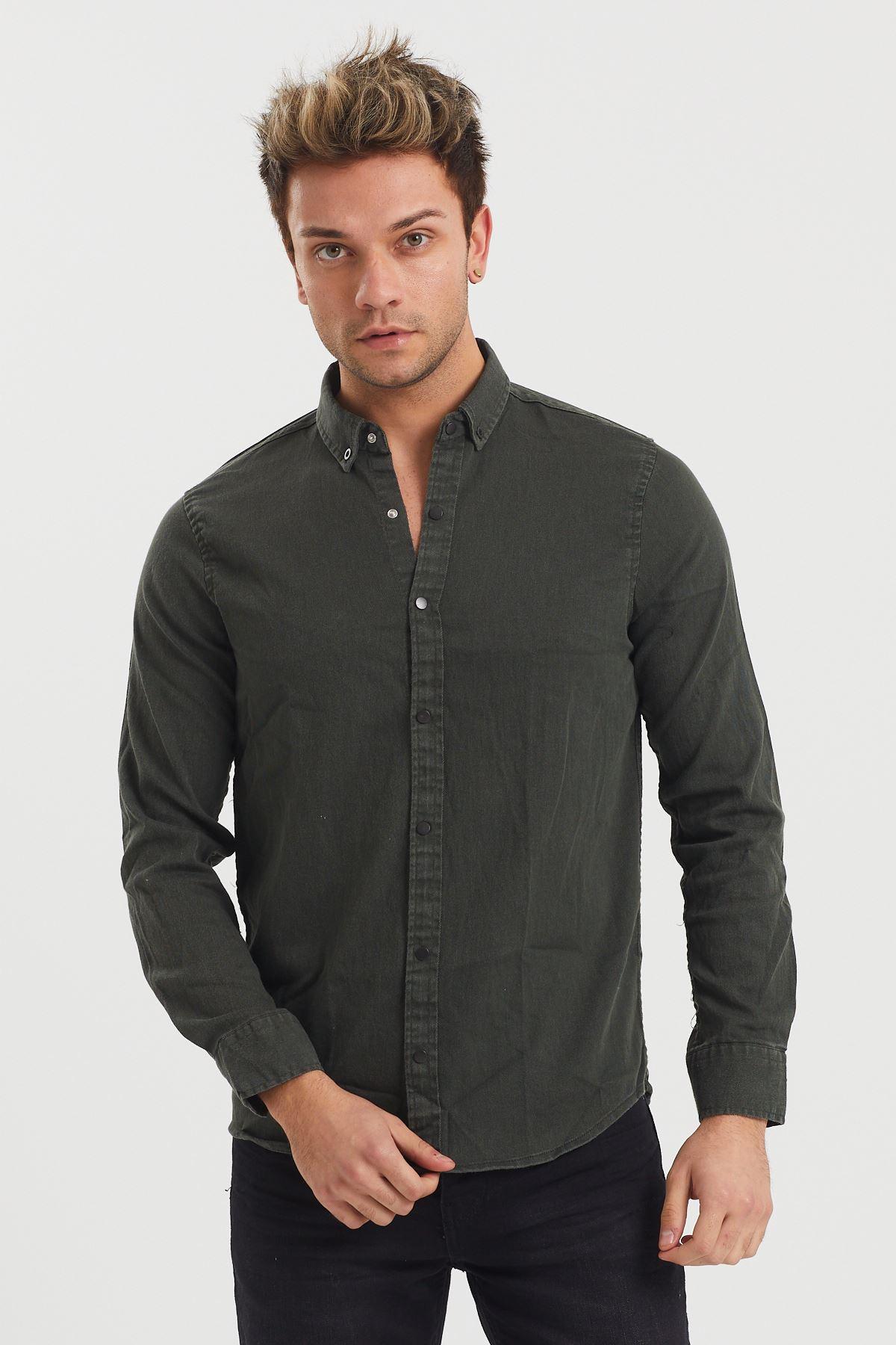Yıkamalı Gömlek