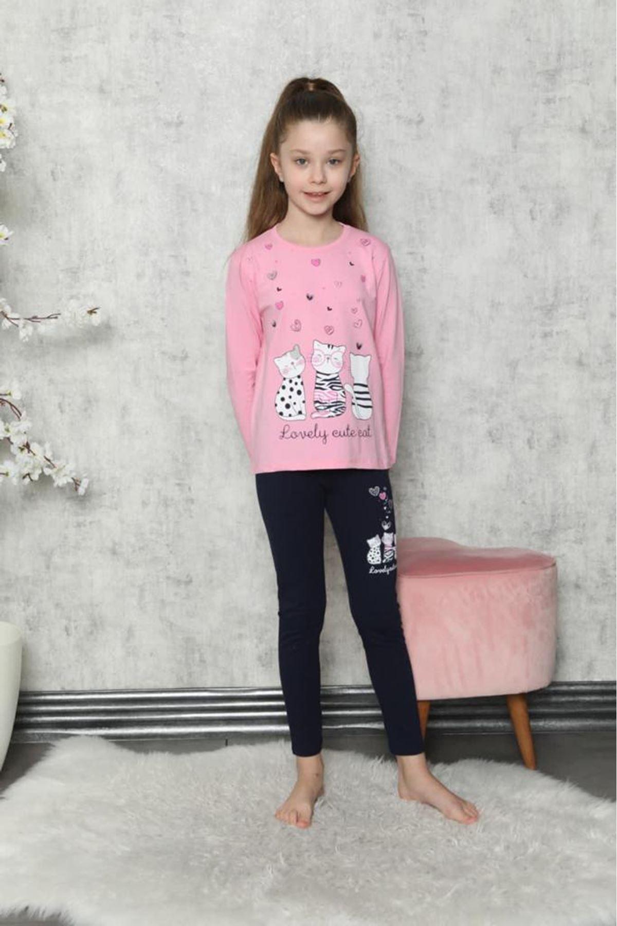 Baskılı Çocuk Pijama Takım