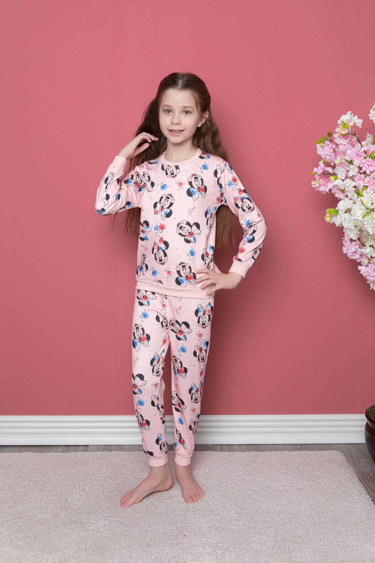 Miki Baskılı Pijama Takım
