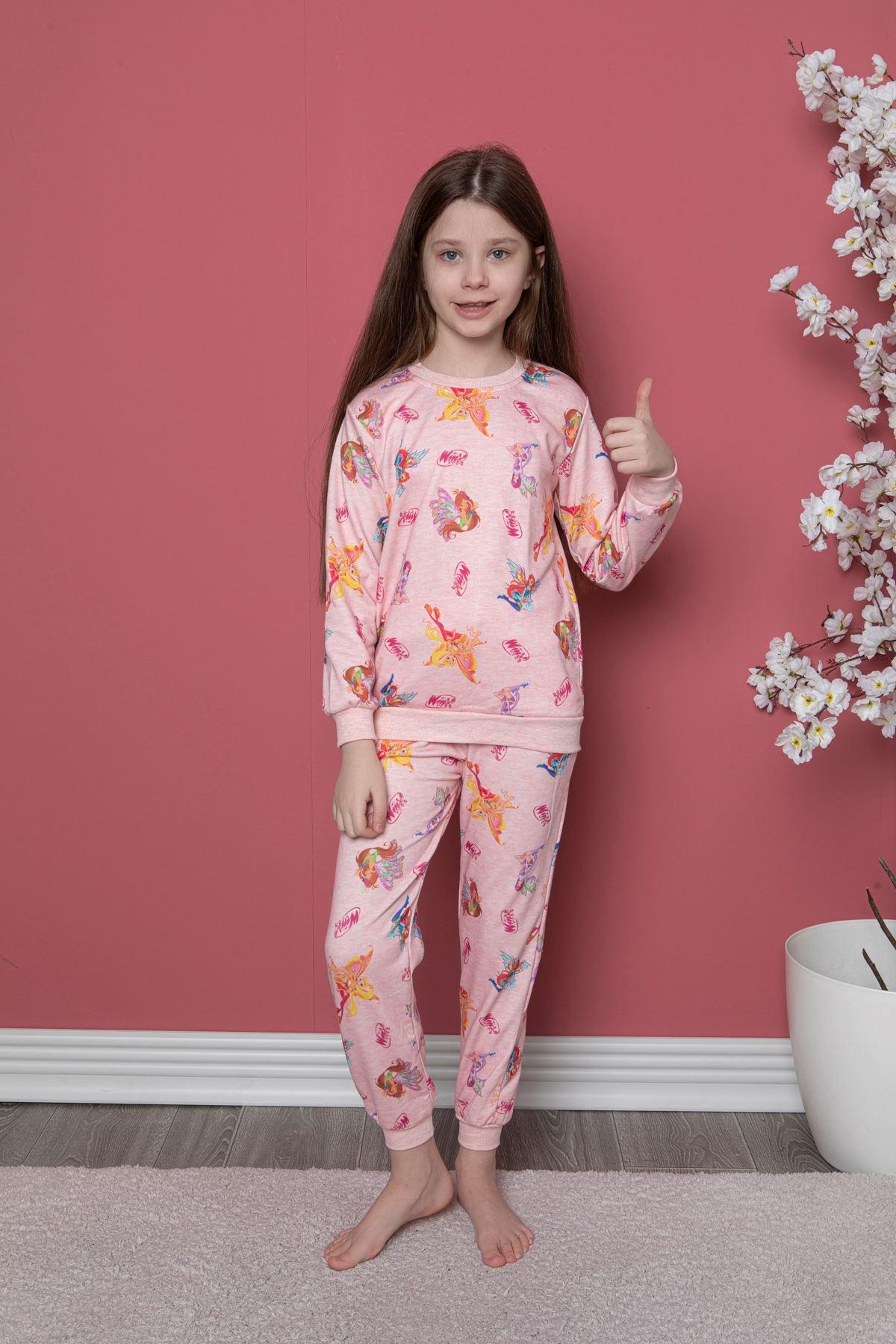 Winx Baskı Pijama Takım