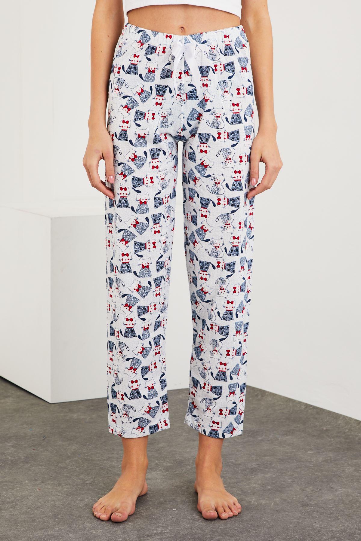 Baskılı Pijama Alt