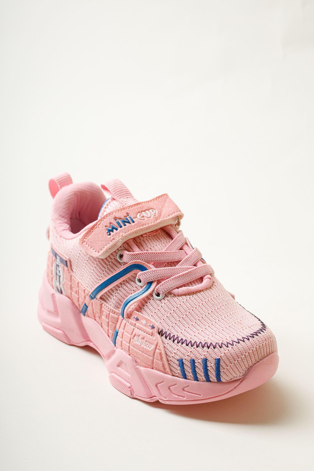 Cırtlı Pudra Spor Ayakkabı