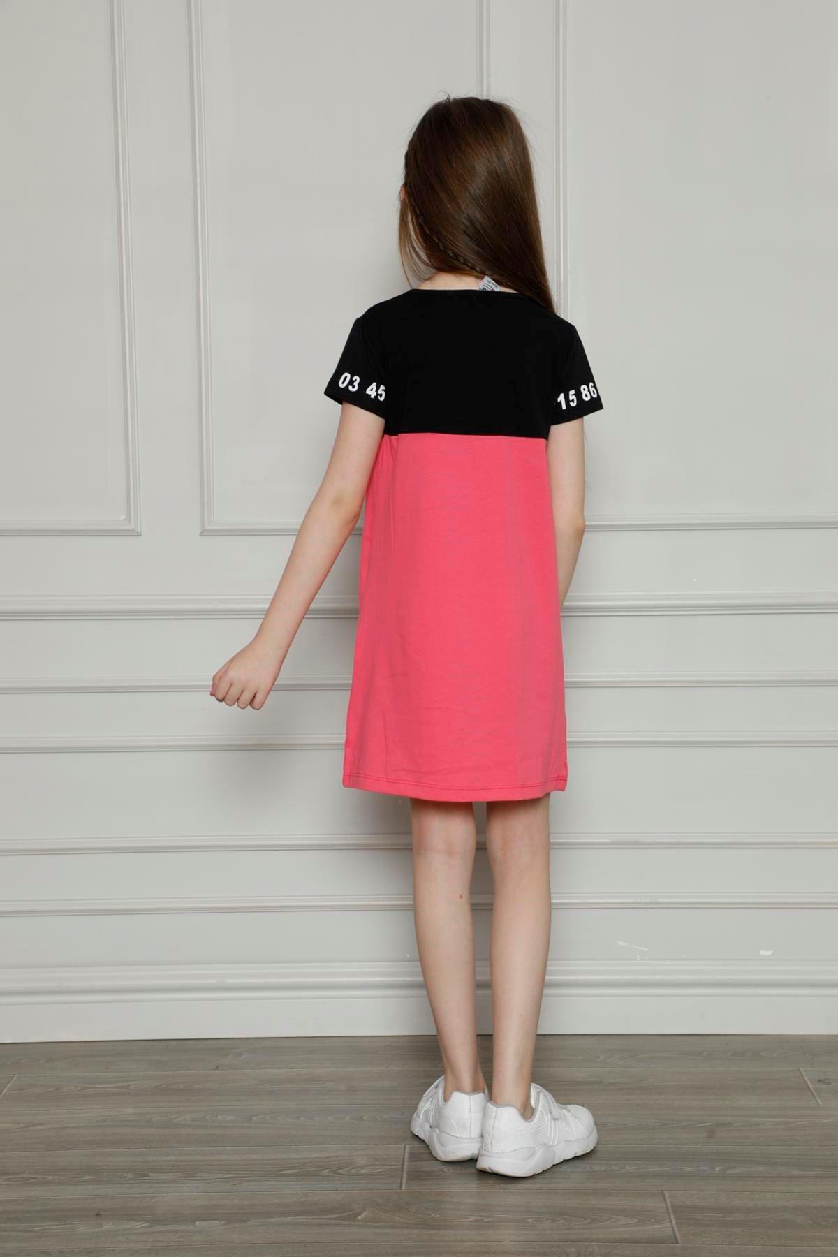 Baskılı Penye Elbise