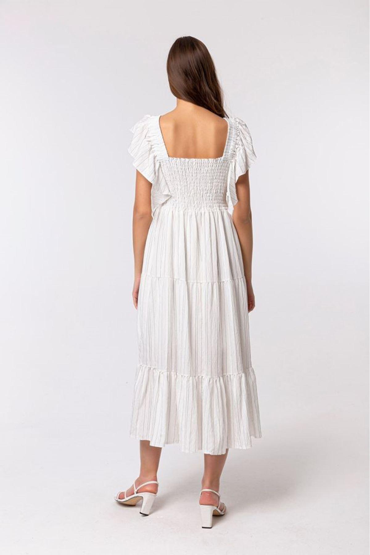 Fırfırlı Elbise