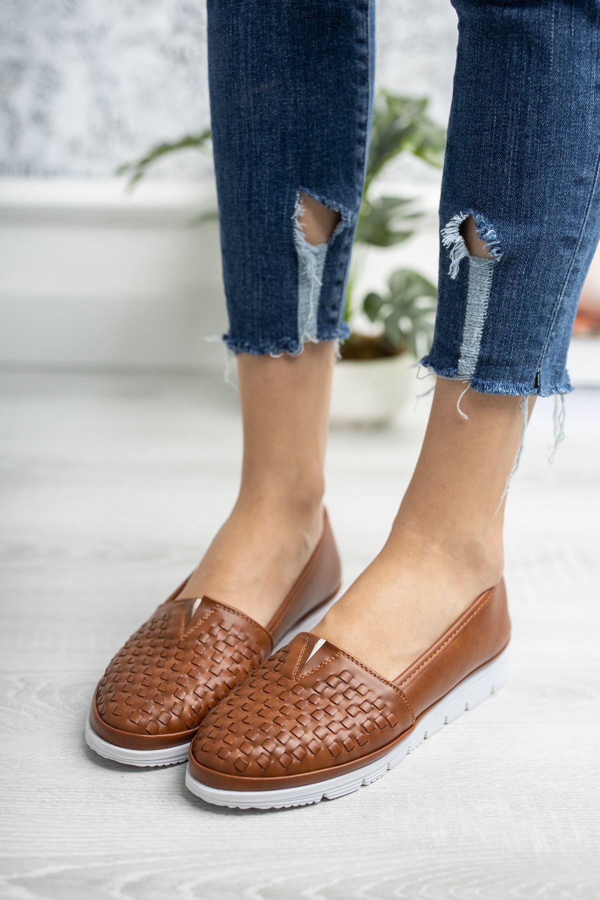 Ortopedik Taban Taba Kadın Ayakkabı