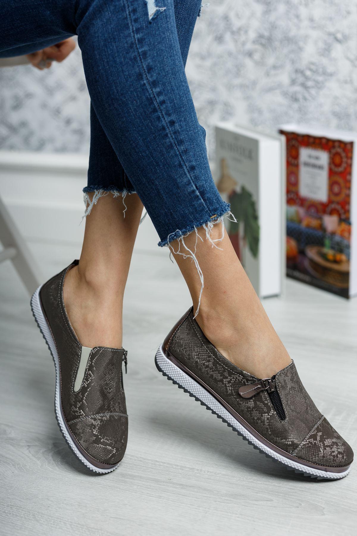 Ortopedik Ped İçi Deri Ayakkabı