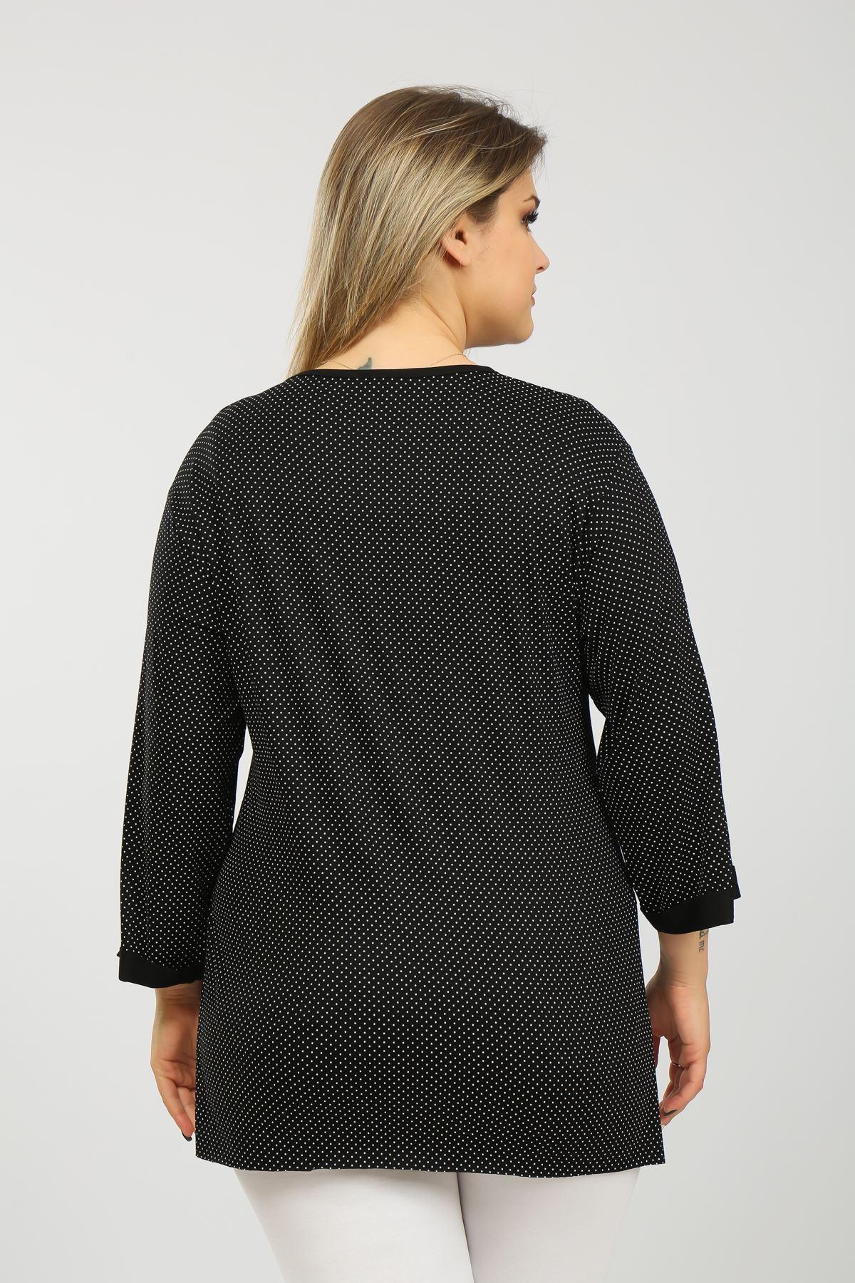 Puanlı Kadın Bluz