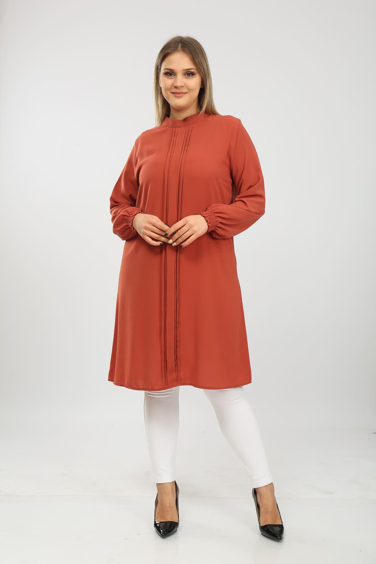 Pileli Kadın Tunik