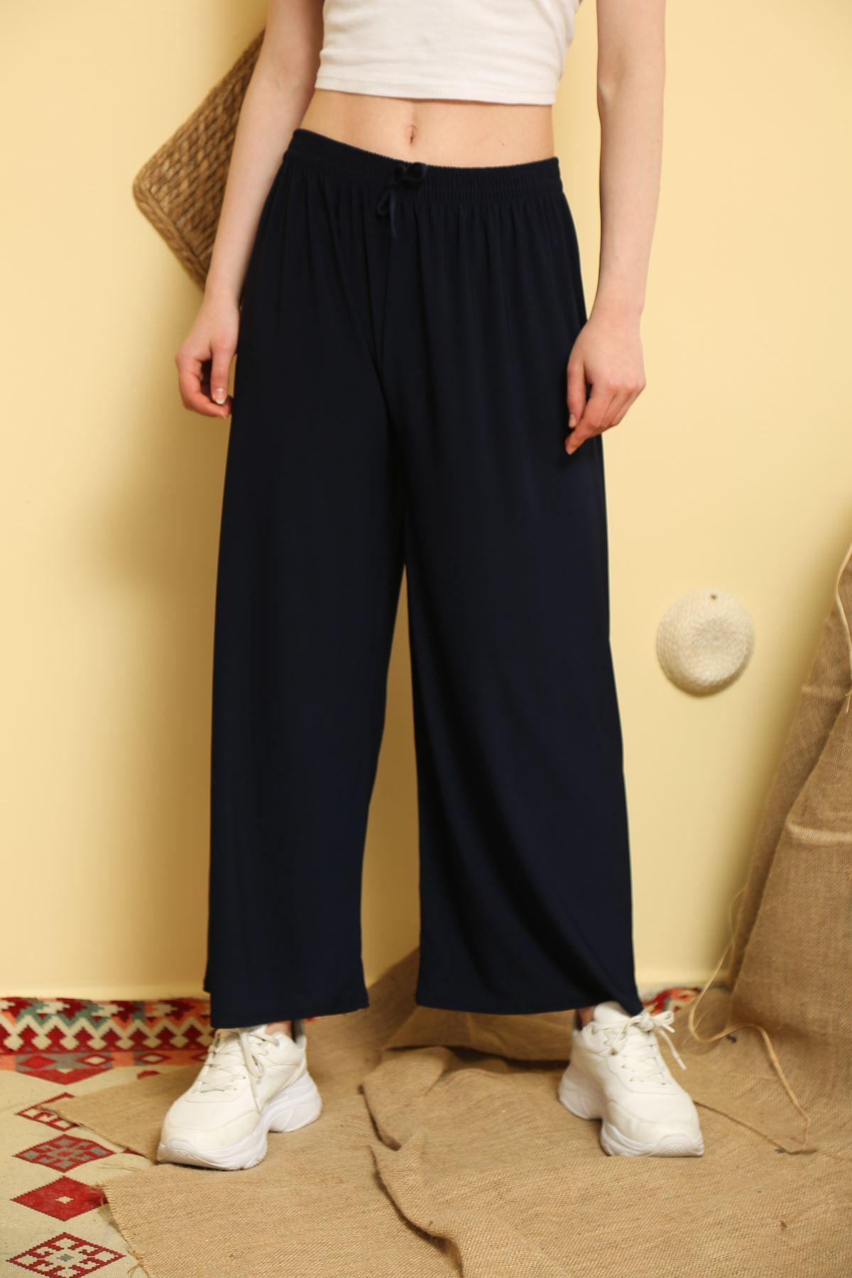 Geniş Paça Sandy Pantolon