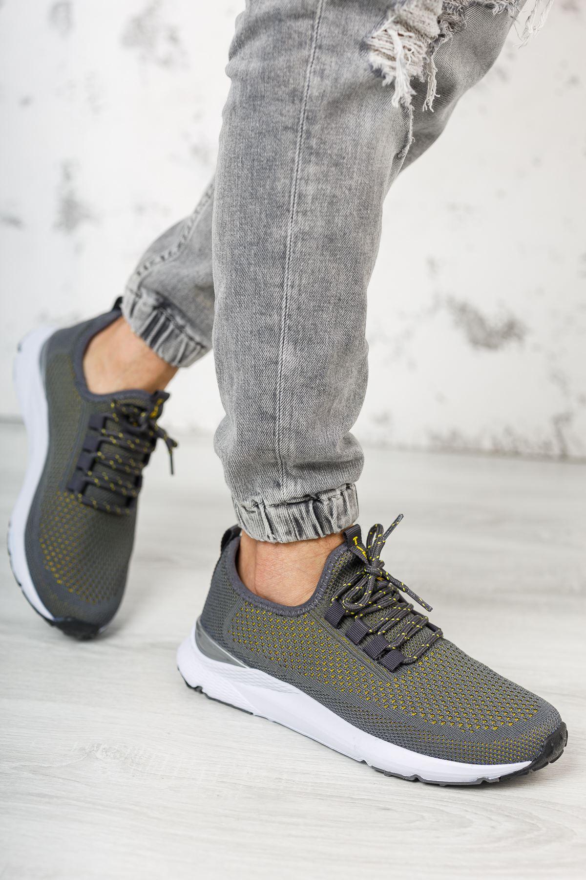 Bağcıklı Erkek Spor Ayakkabı